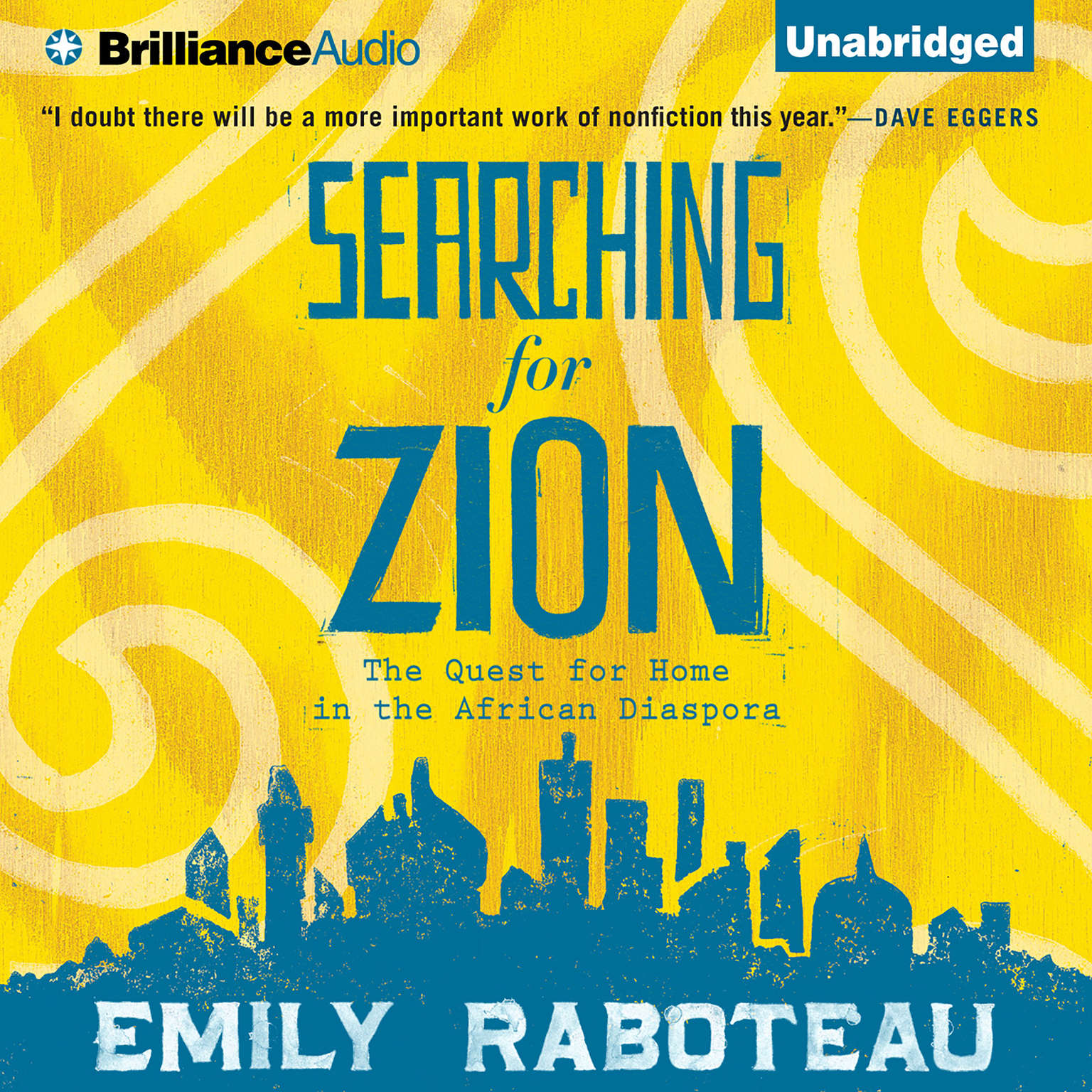 Printable Searching for Zion: The Quest for Home in the African Diaspora Audiobook Cover Art
