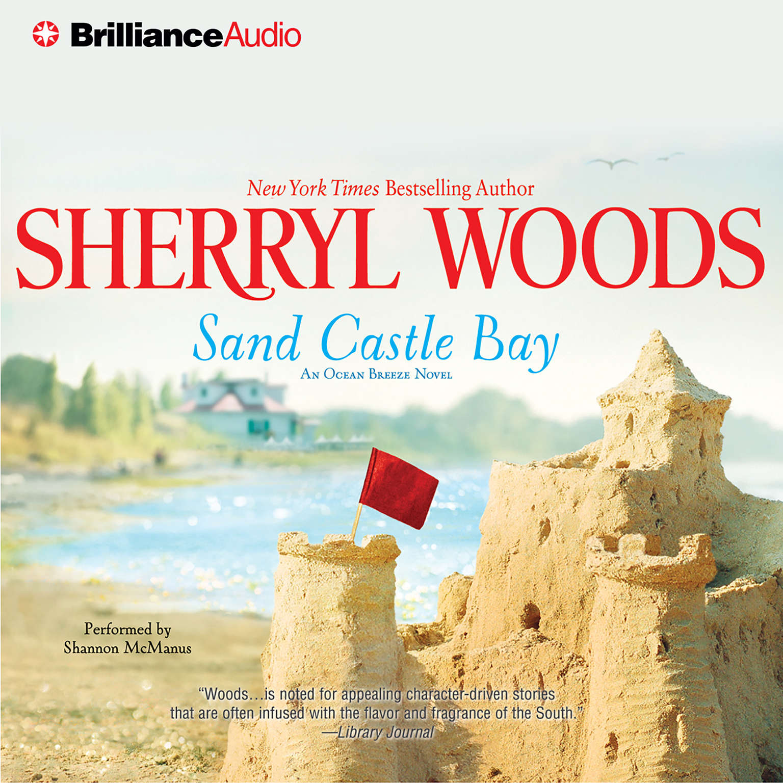 Printable Sand Castle Bay Audiobook Cover Art