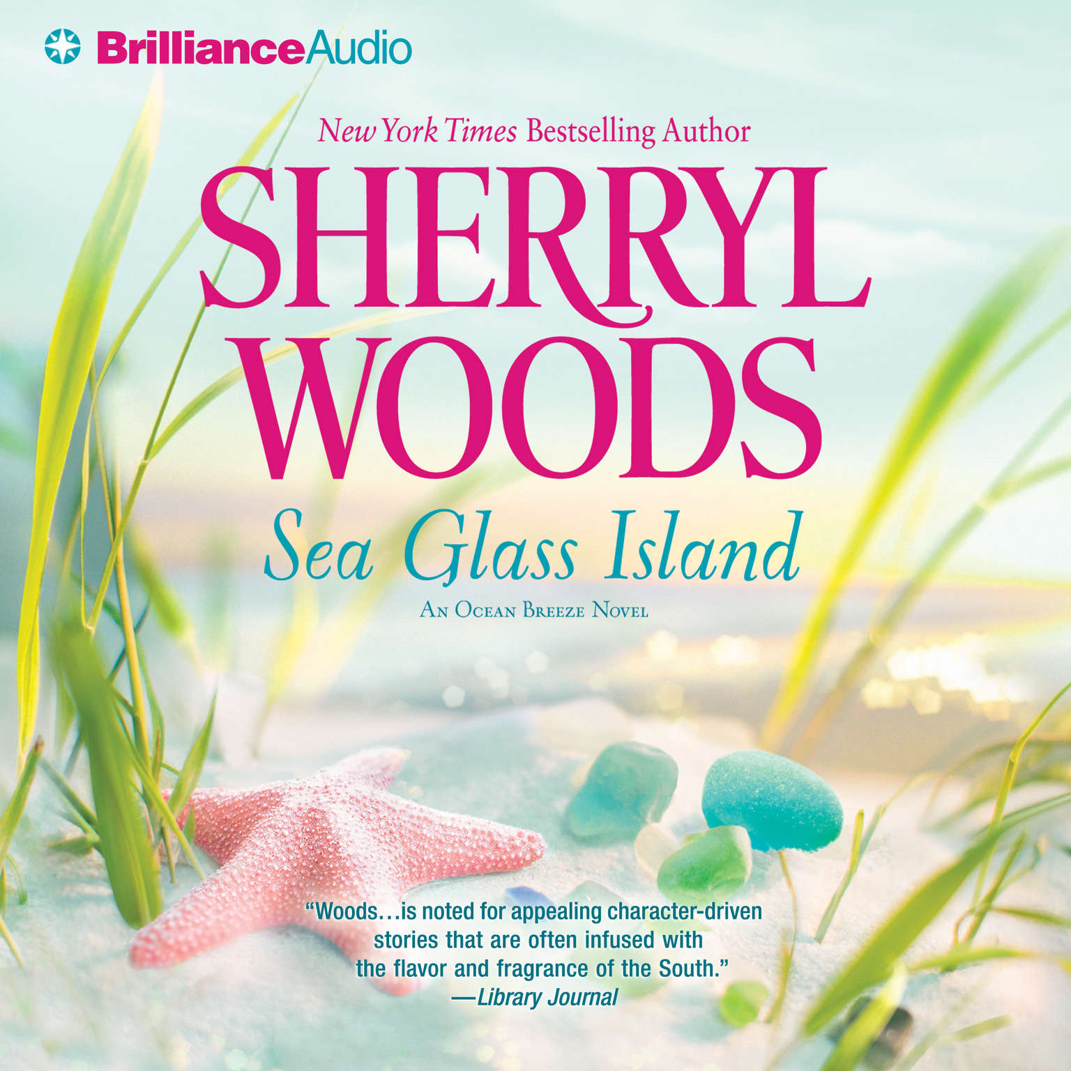 Printable Sea Glass Island Audiobook Cover Art