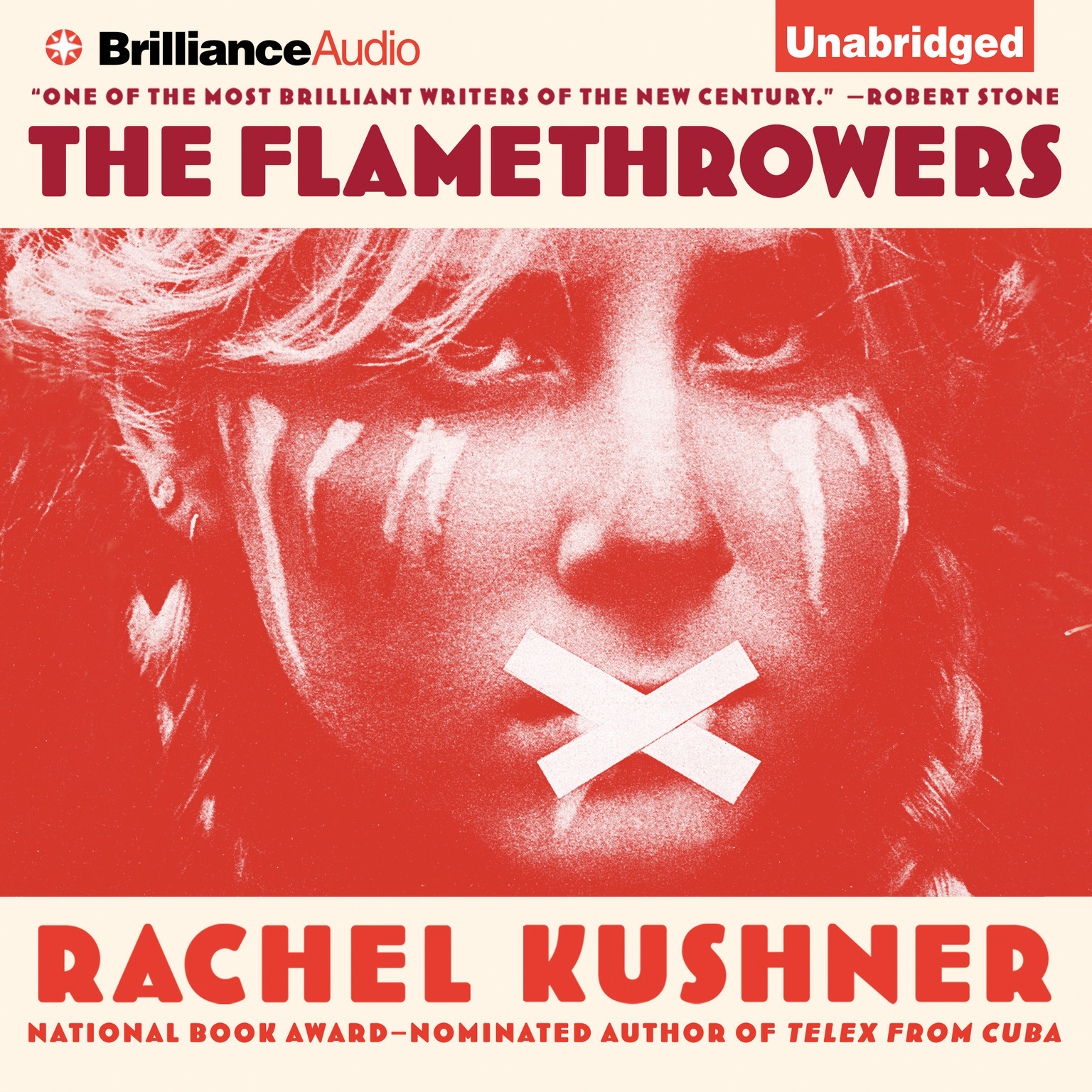 Printable The Flamethrowers: A Novel Audiobook Cover Art