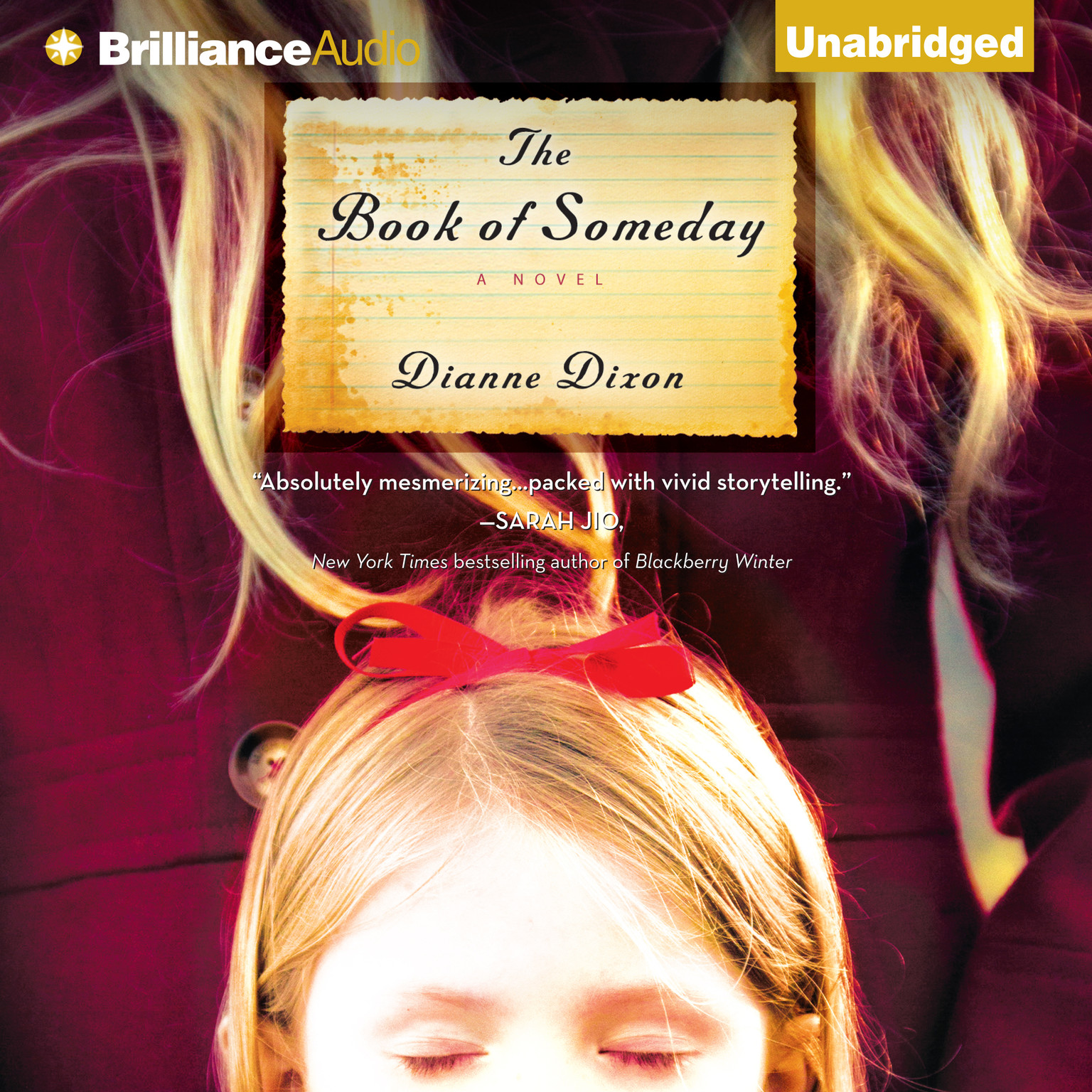 Printable The Book of Someday: A Novel Audiobook Cover Art