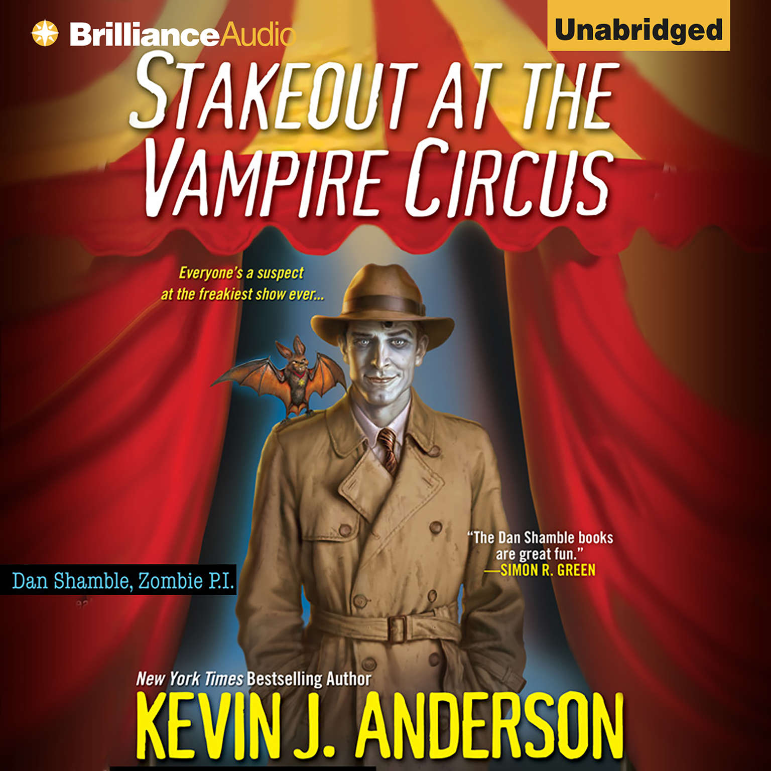 Printable Stakeout at the Vampire Circus Audiobook Cover Art