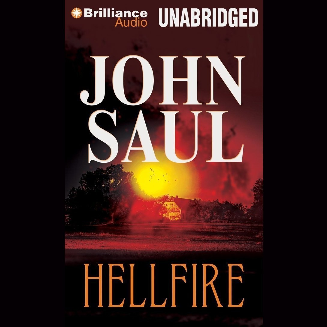 Printable Hellfire Audiobook Cover Art