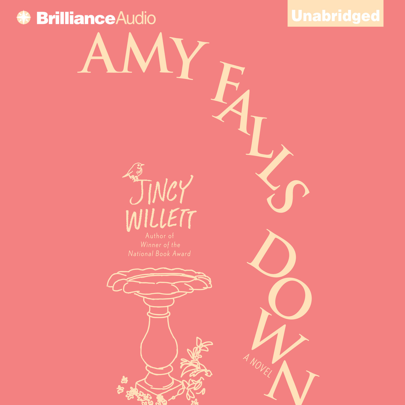 Printable Amy Falls Down: A Novel Audiobook Cover Art