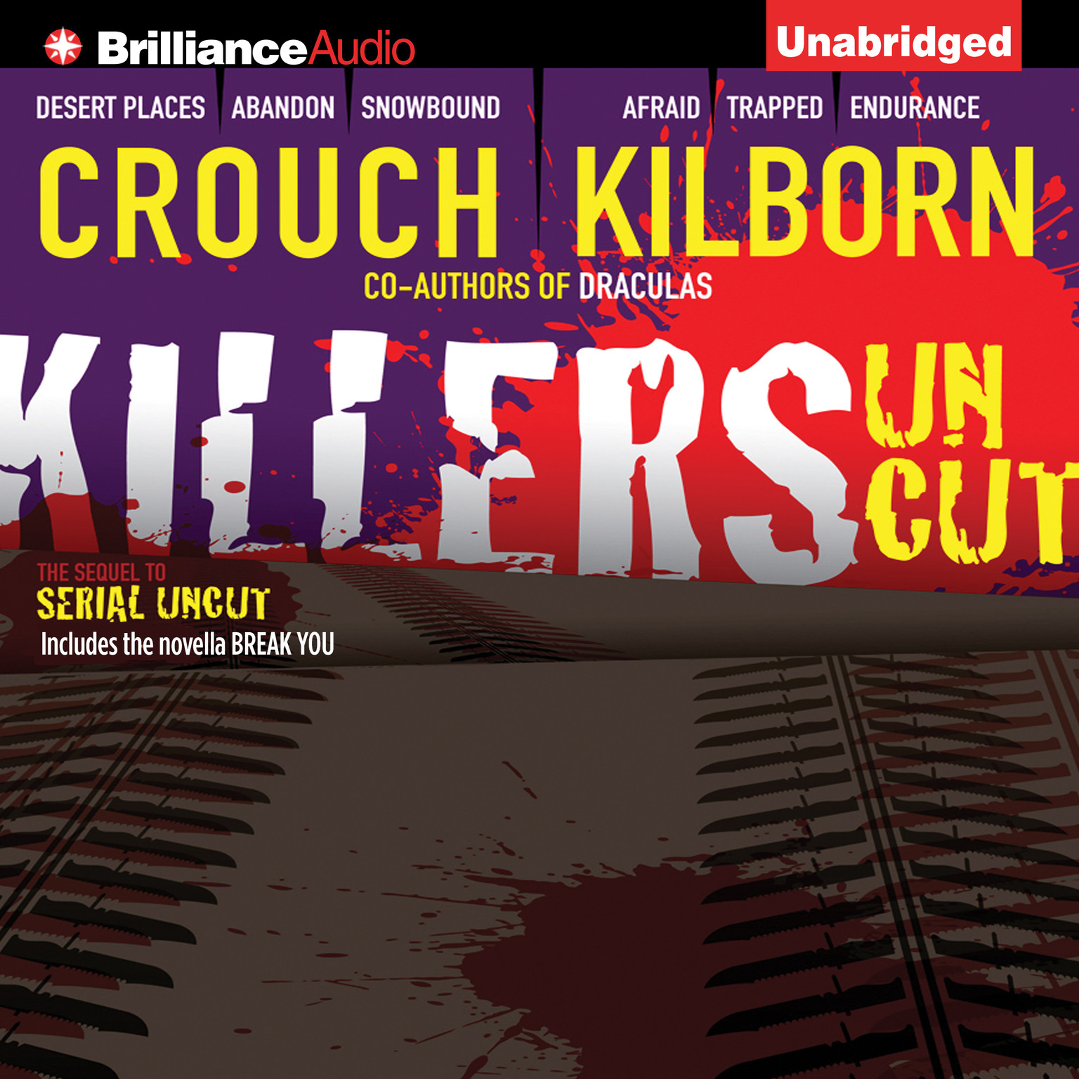 Printable Killers Uncut Audiobook Cover Art