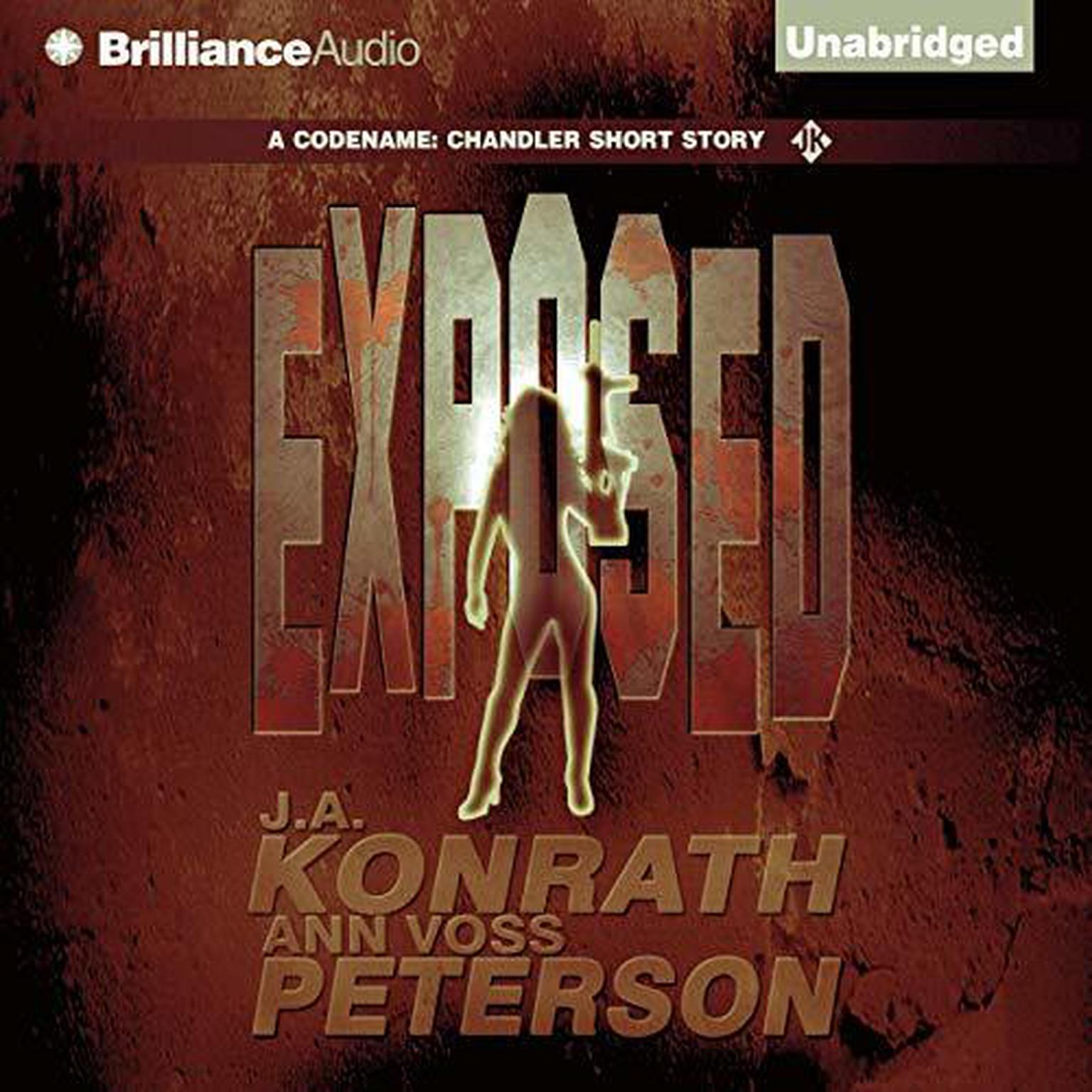 Printable Exposed: A Thriller Audiobook Cover Art