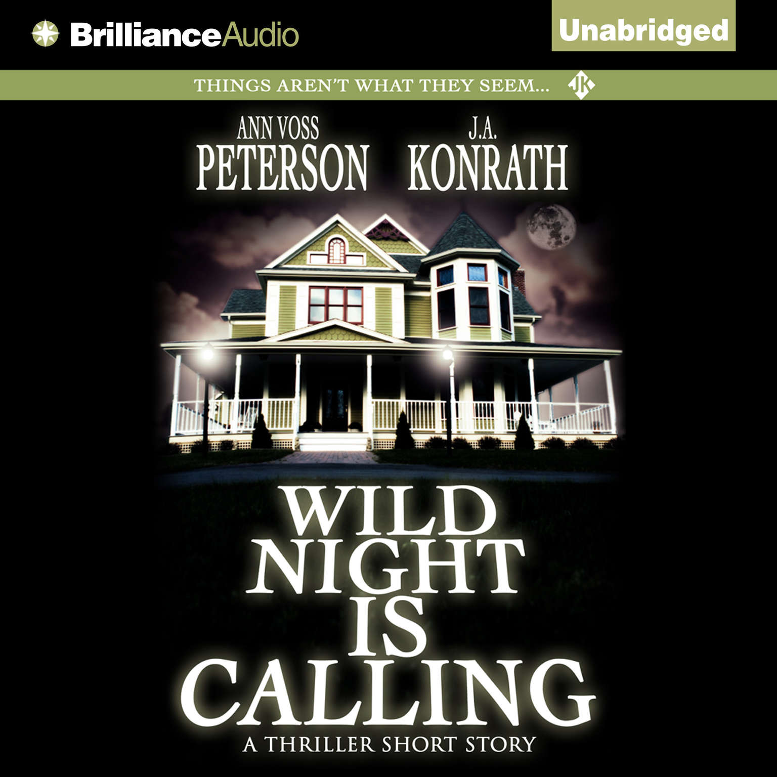 Printable Wild Night Is Calling Audiobook Cover Art