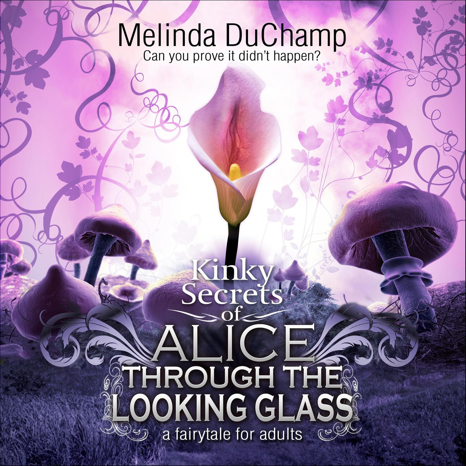 Printable Fifty Shades of Alice Through the Looking Glass Audiobook Cover Art