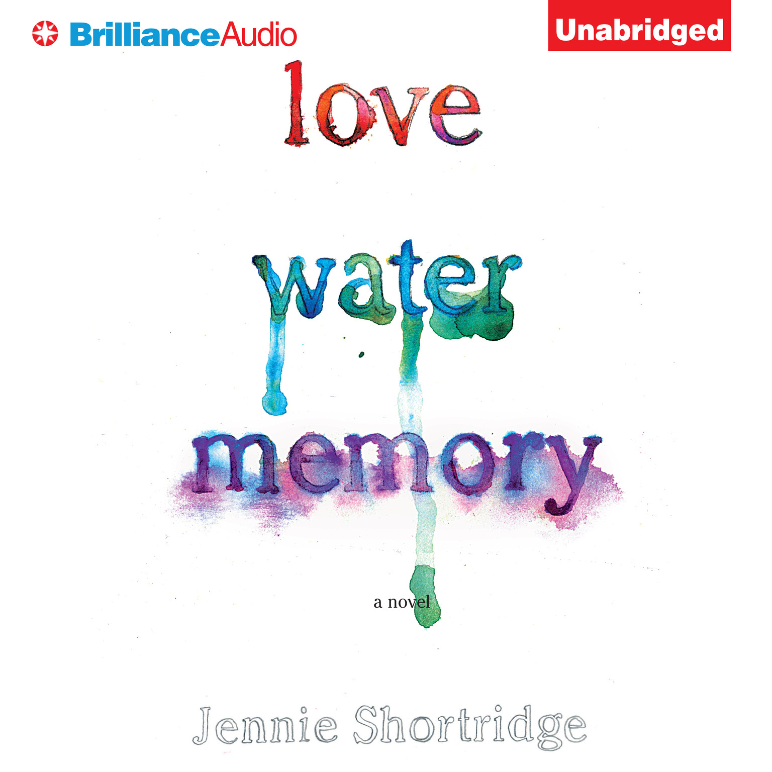 Printable Love Water Memory Audiobook Cover Art