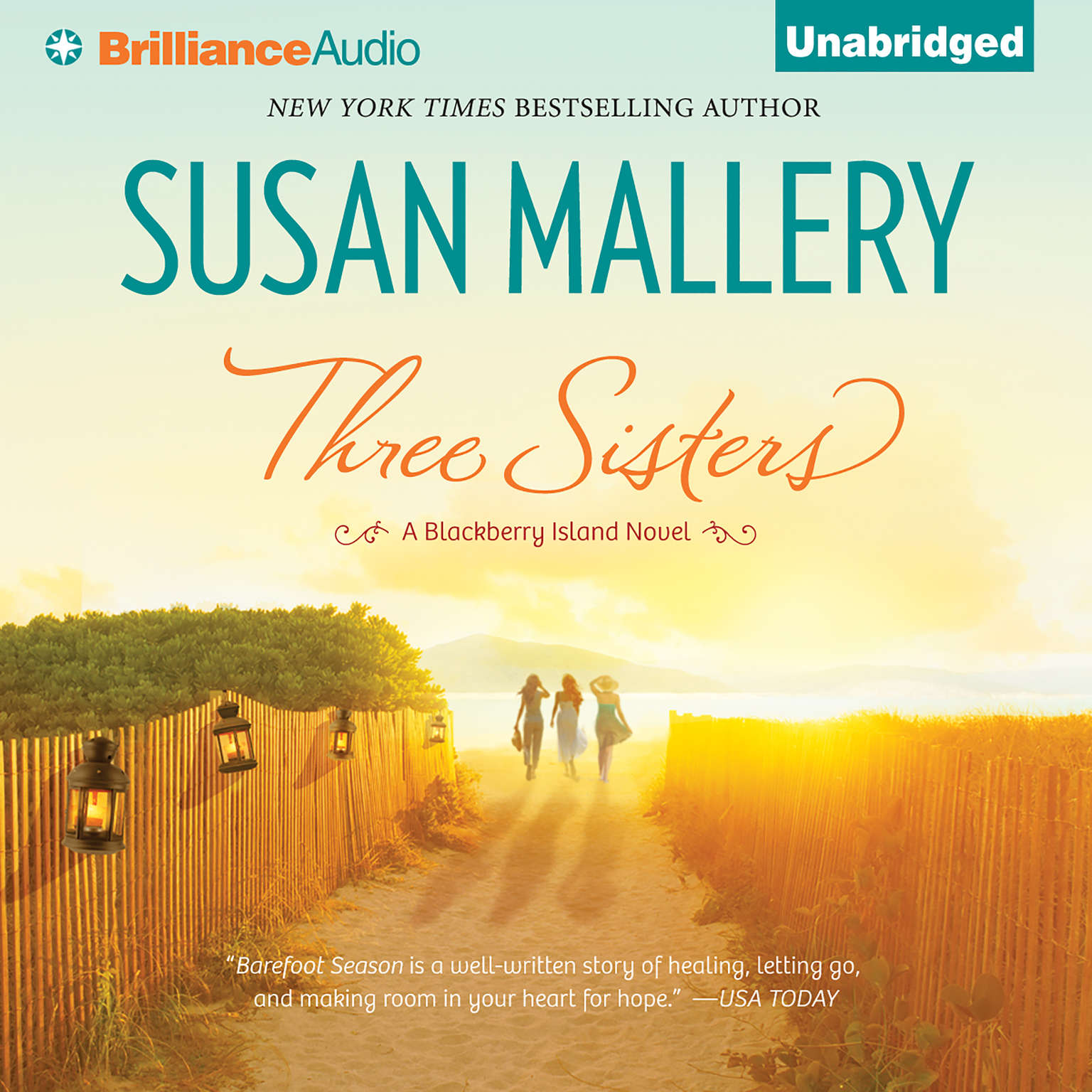 Printable Three Sisters Audiobook Cover Art