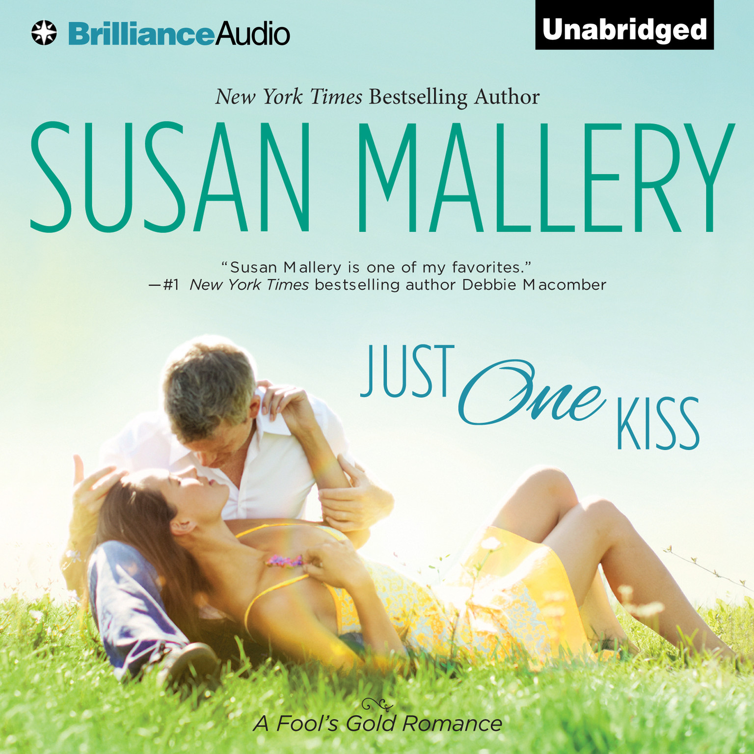 Printable Just One Kiss Audiobook Cover Art