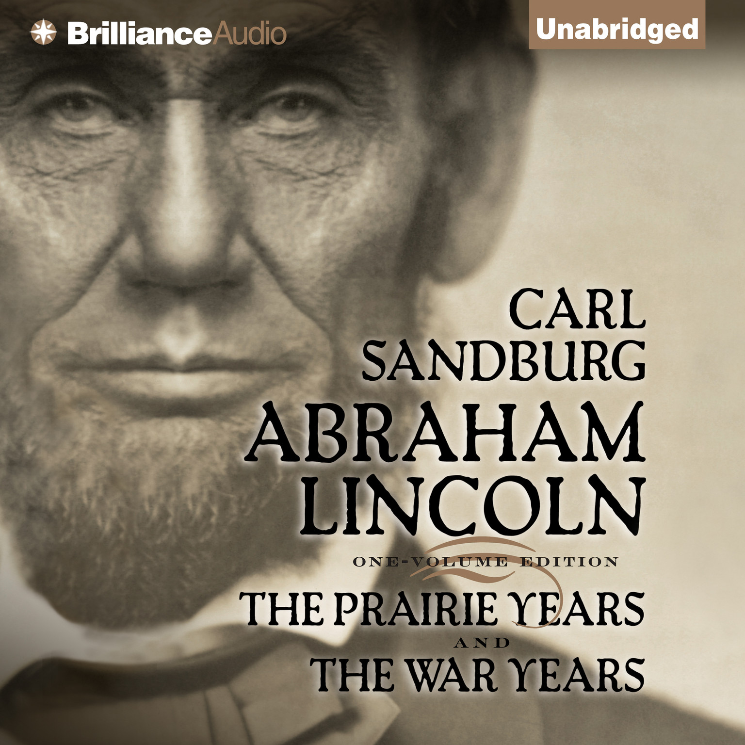 Printable Abraham Lincoln: The Prairie Years and The War Years Audiobook Cover Art