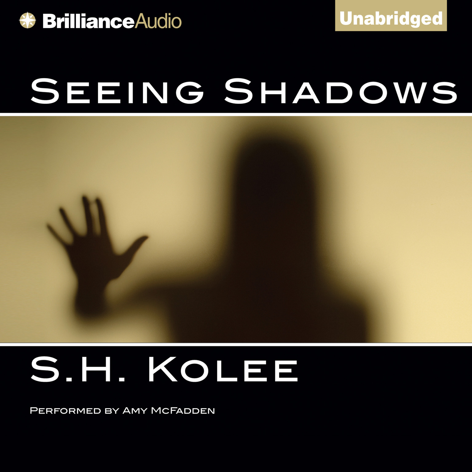 Printable Seeing Shadows Audiobook Cover Art