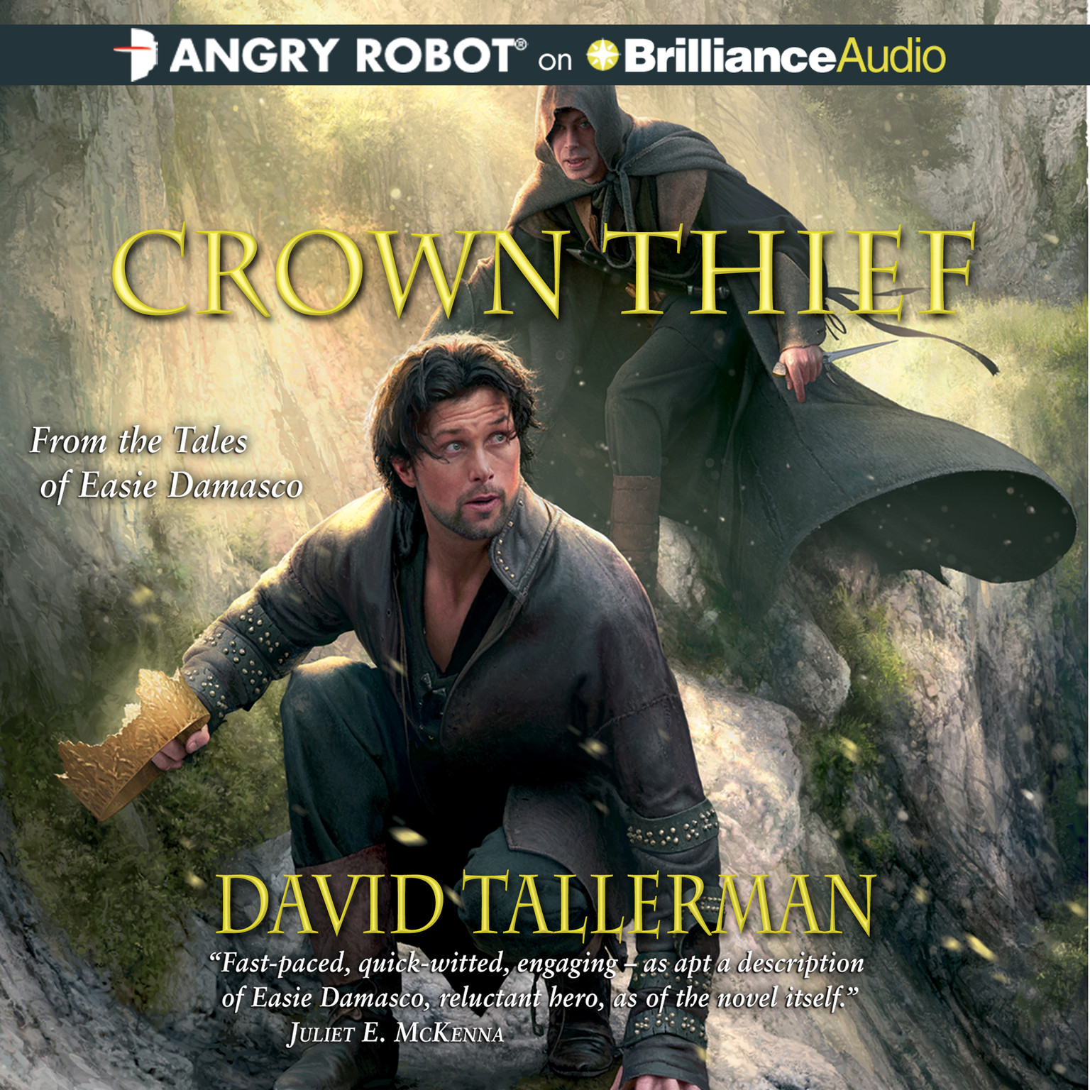 Printable Crown Thief Audiobook Cover Art