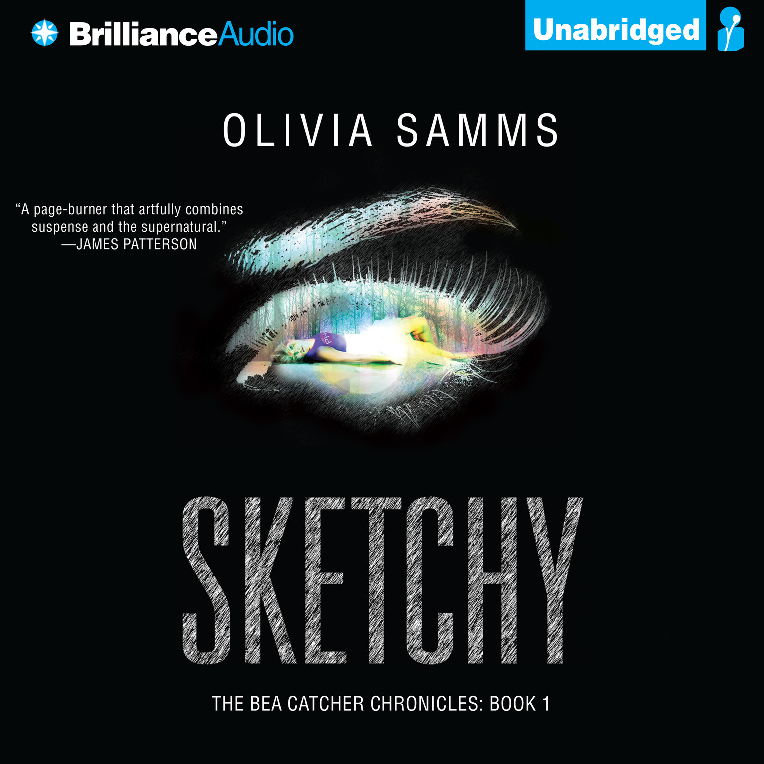 Printable Sketchy Audiobook Cover Art