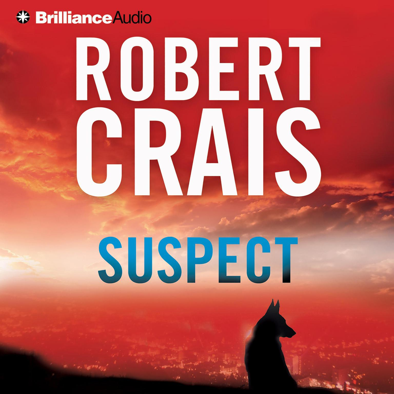 Printable Suspect Audiobook Cover Art