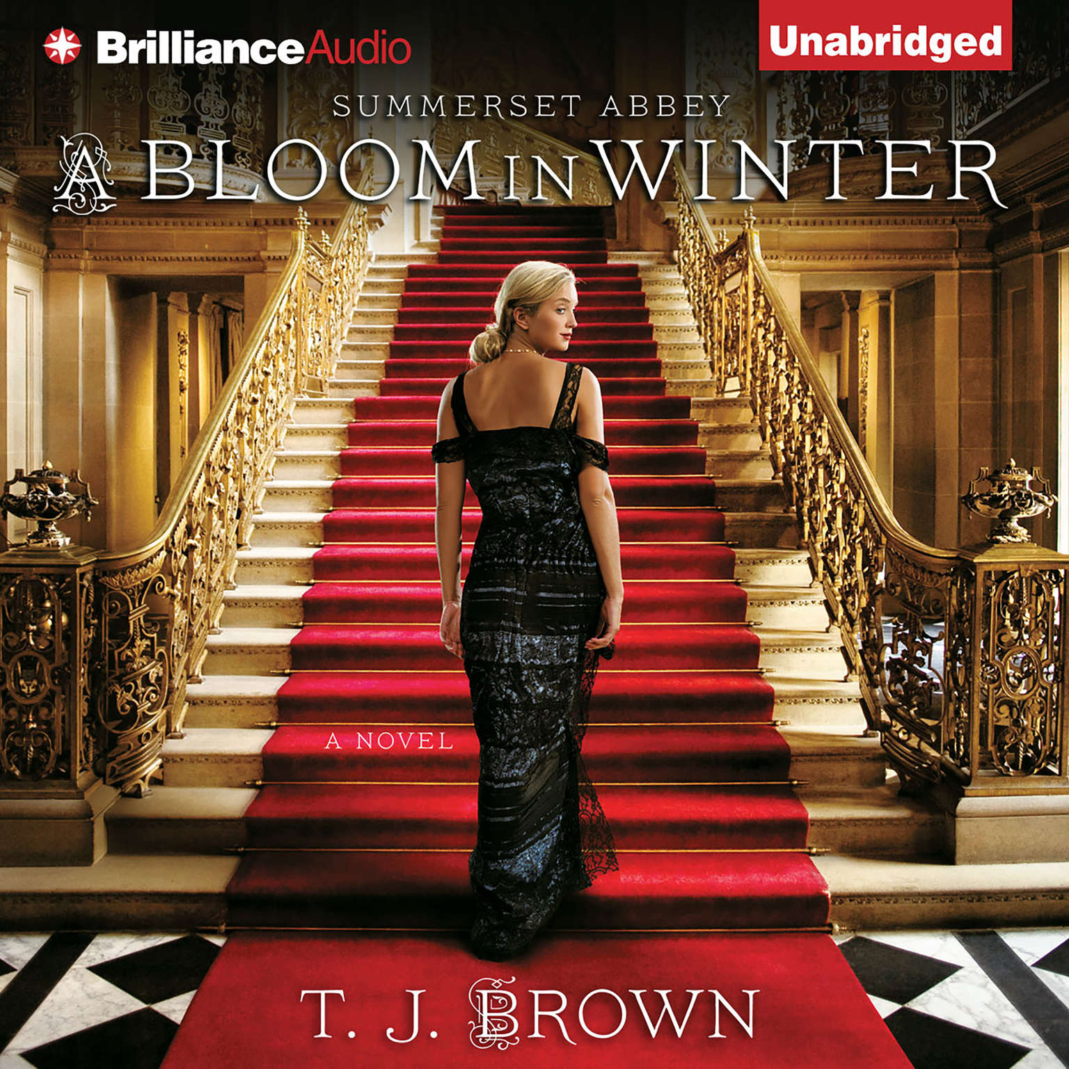 Printable A Bloom in Winter Audiobook Cover Art