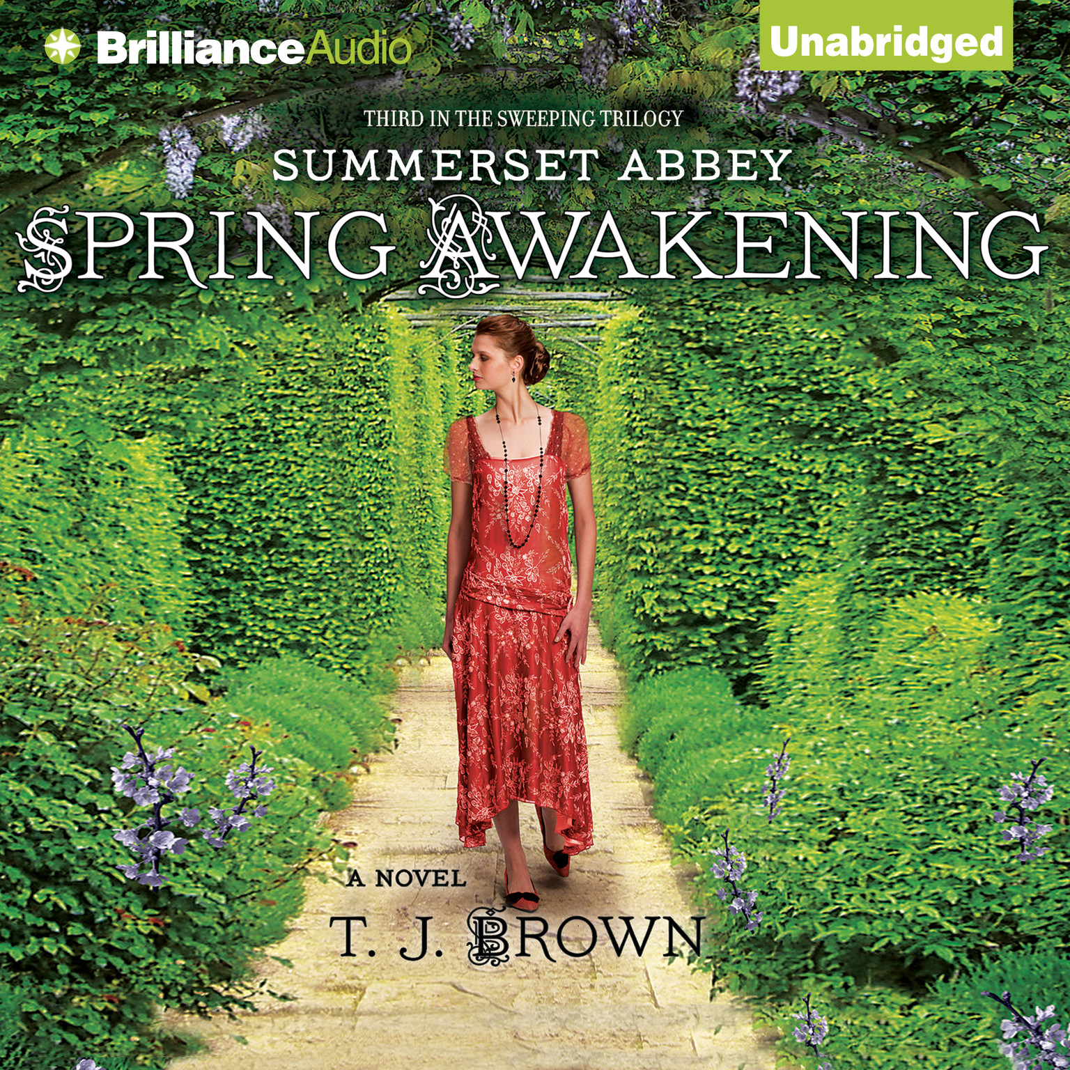 Printable Spring Awakening: A Novel Audiobook Cover Art