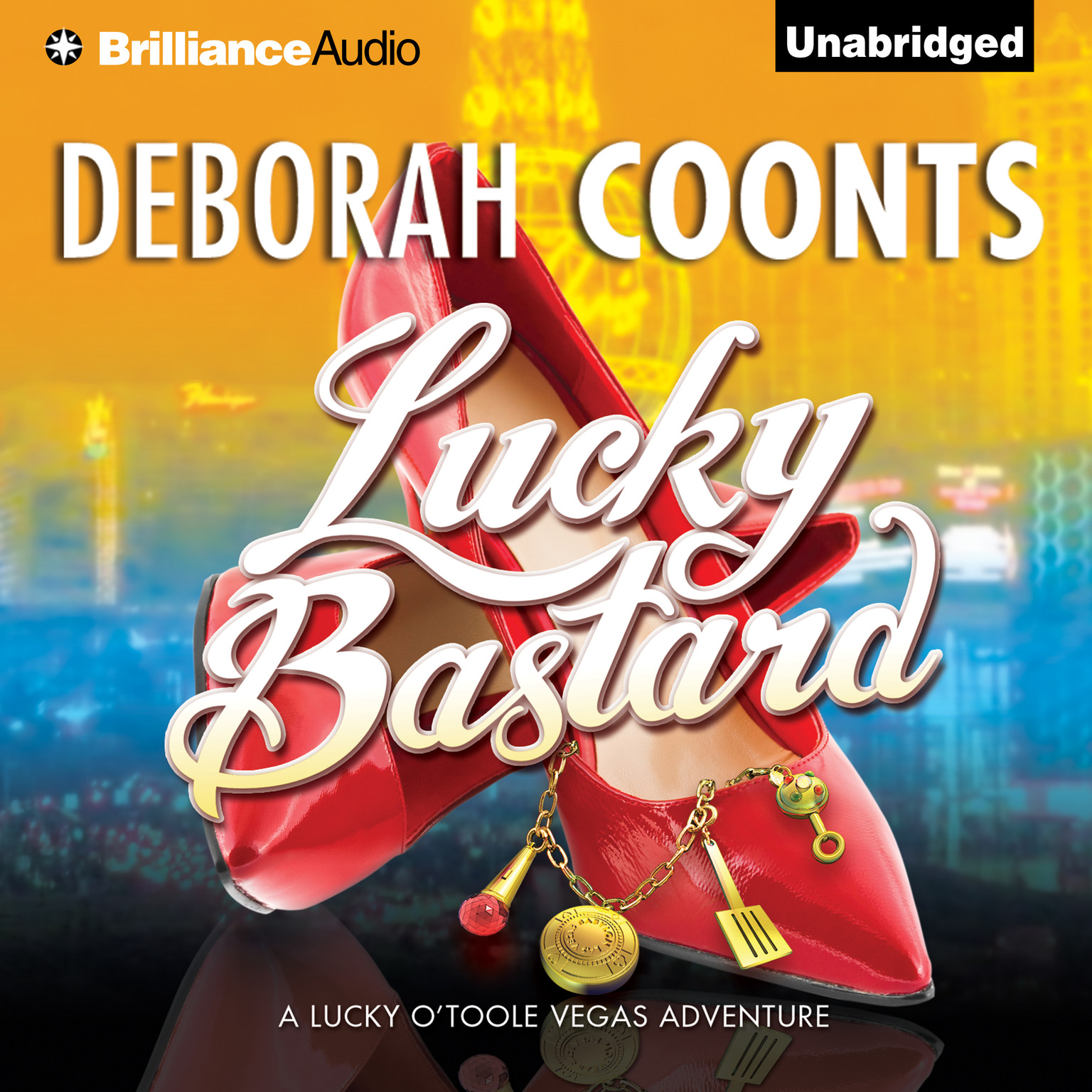Printable Lucky Bastard Audiobook Cover Art