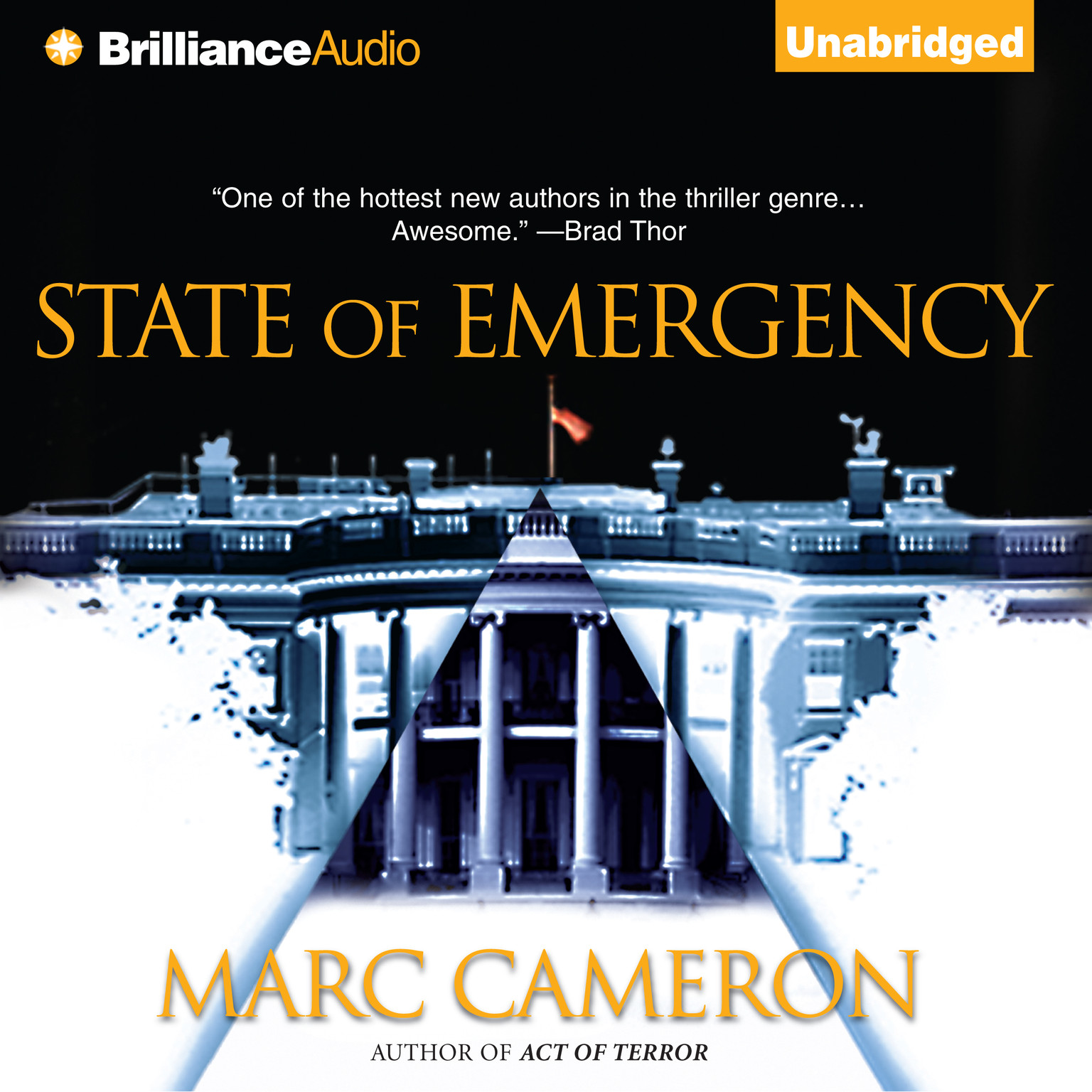 Printable State of Emergency Audiobook Cover Art