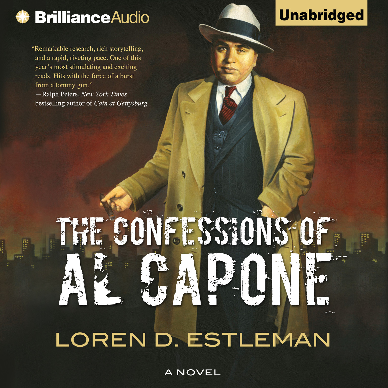 Printable The Confessions of Al Capone Audiobook Cover Art