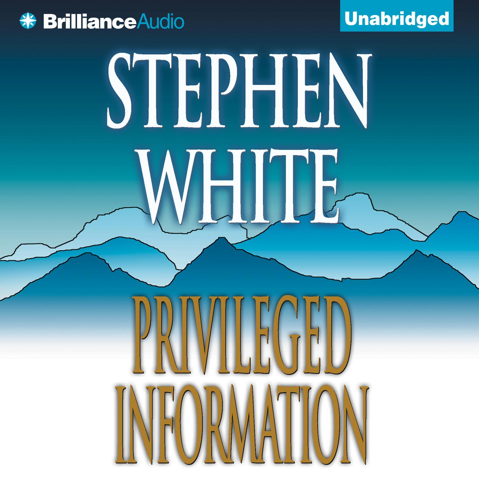 Printable Privileged Information Audiobook Cover Art