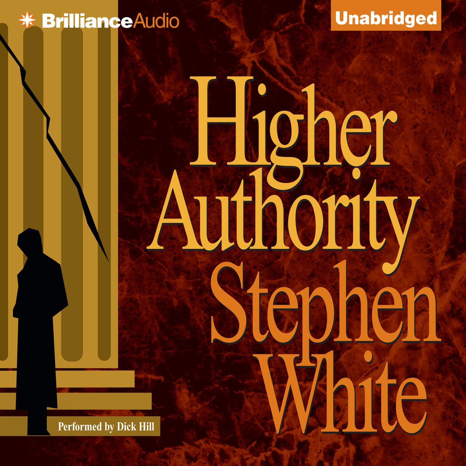 Printable Higher Authority Audiobook Cover Art