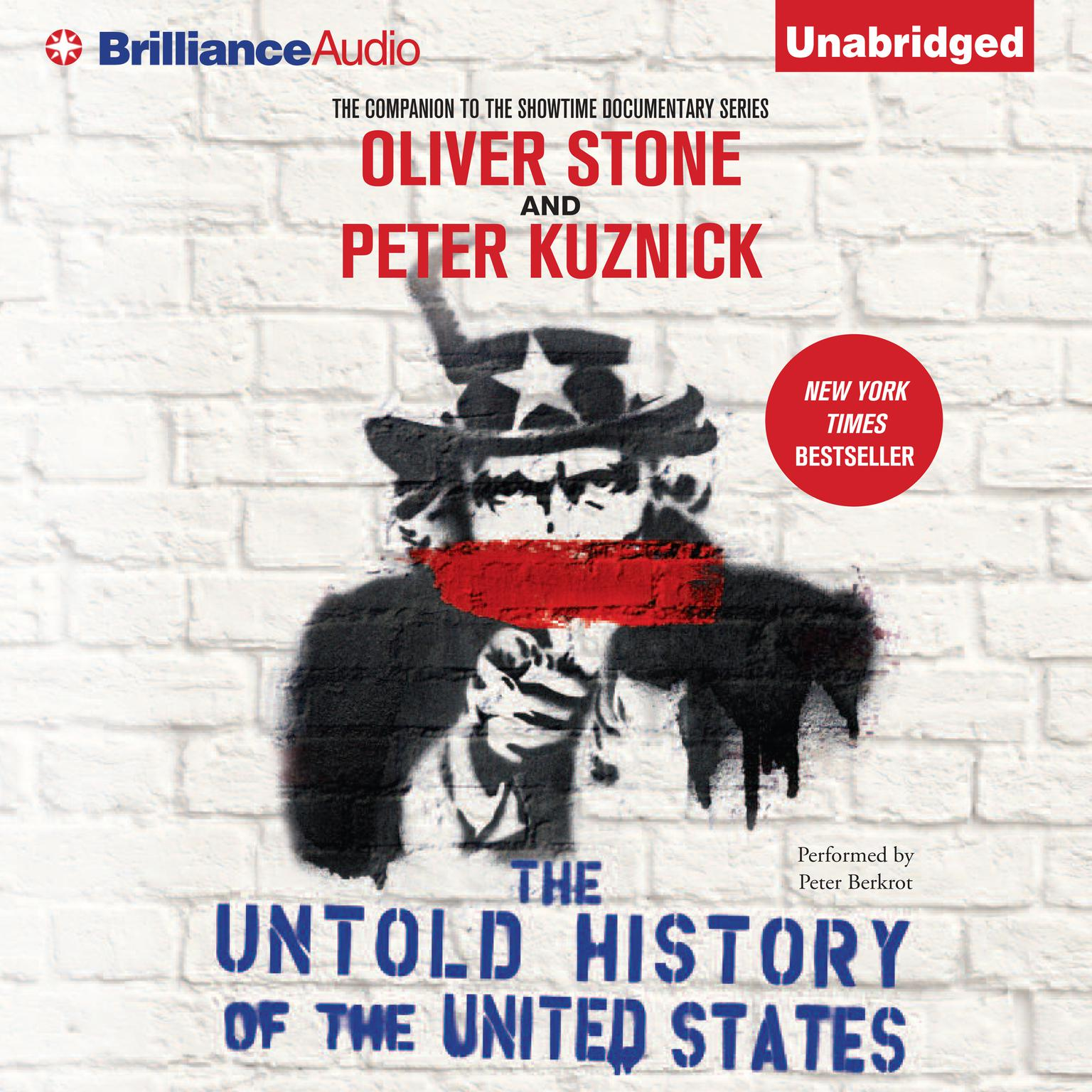 Printable The Untold History of the United States Audiobook Cover Art