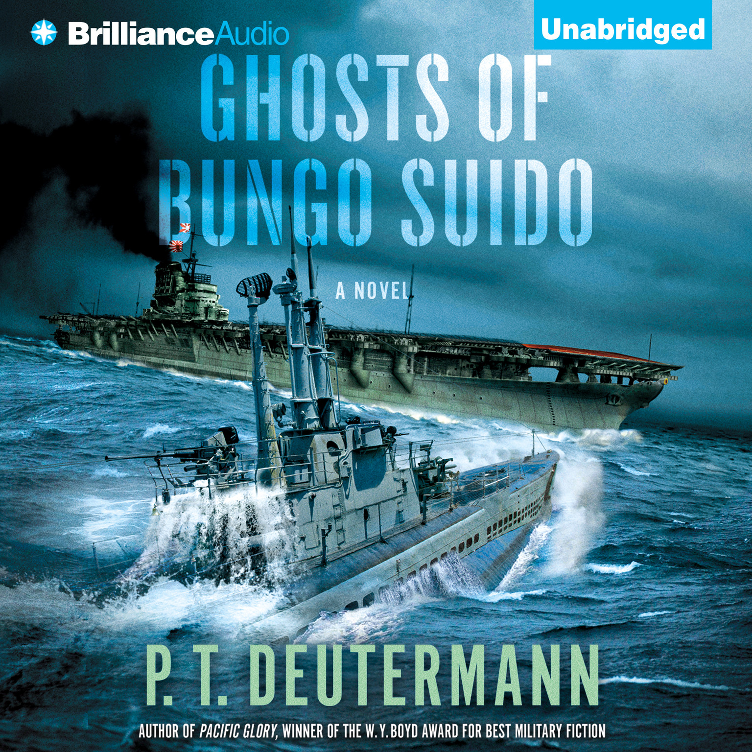 Printable Ghosts of Bungo Suido Audiobook Cover Art