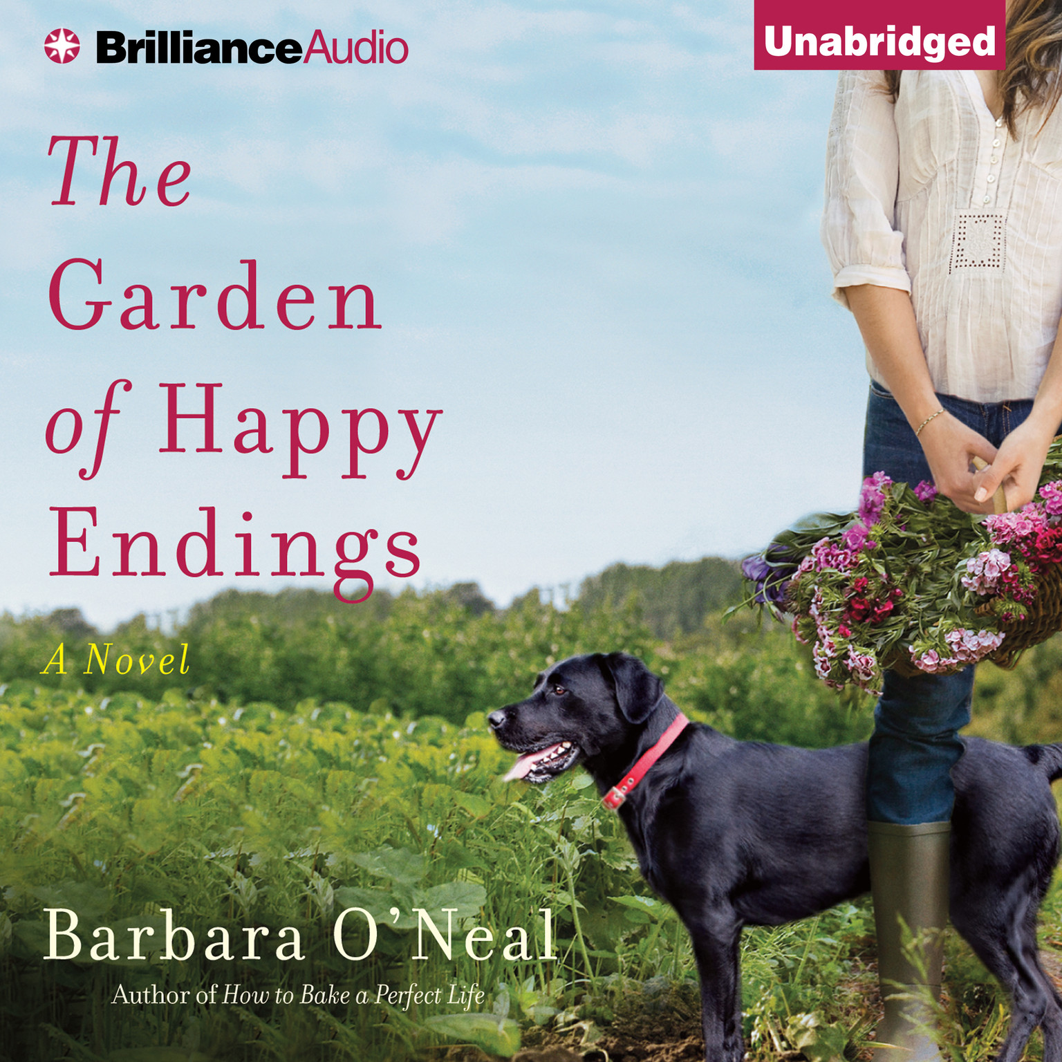 Printable The Garden of Happy Endings: A Novel Audiobook Cover Art