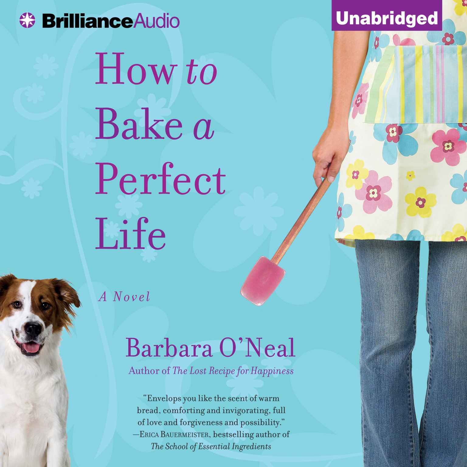 Printable How to Bake a Perfect Life: A Novel Audiobook Cover Art