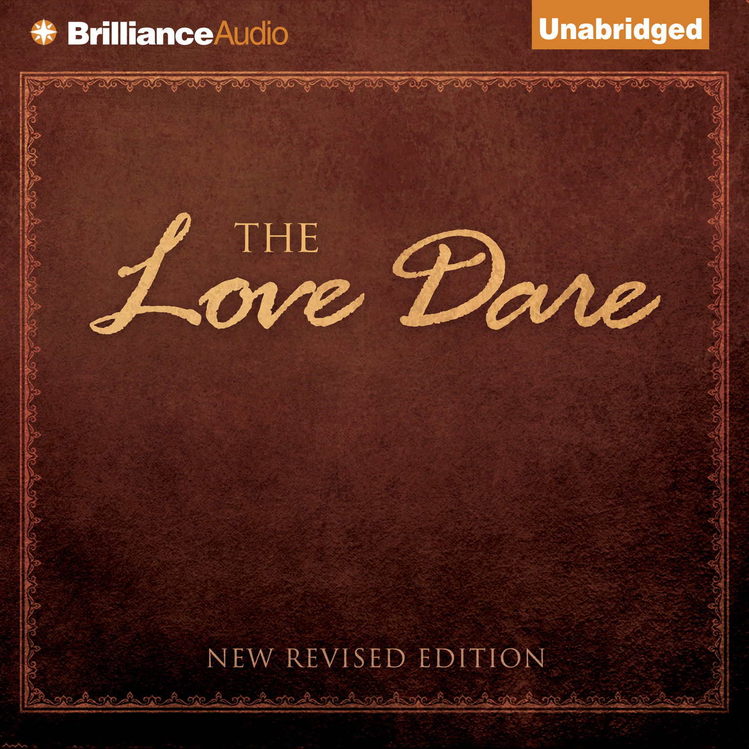Printable The Love Dare Audiobook Cover Art