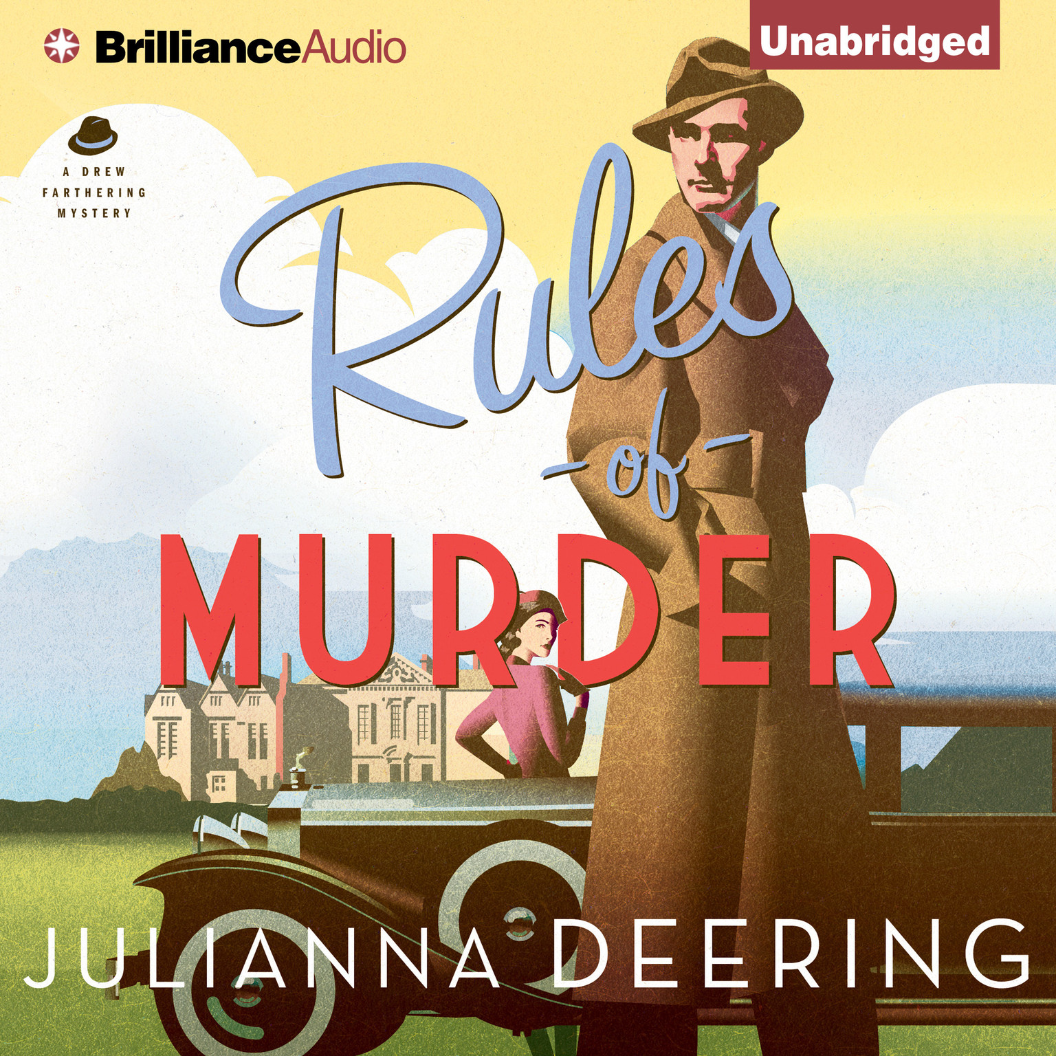 Printable Rules of Murder Audiobook Cover Art
