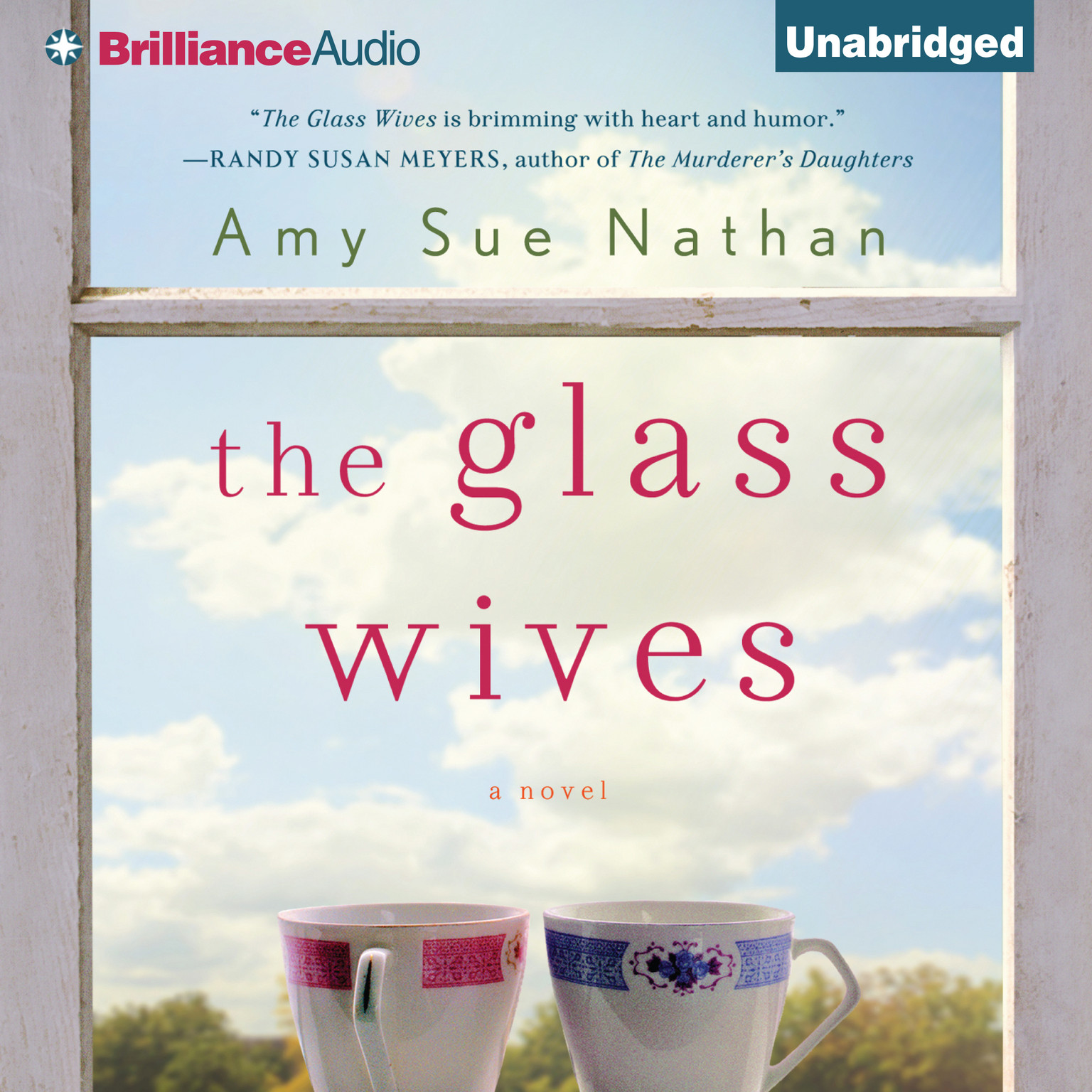 Printable The Glass Wives: A Novel Audiobook Cover Art