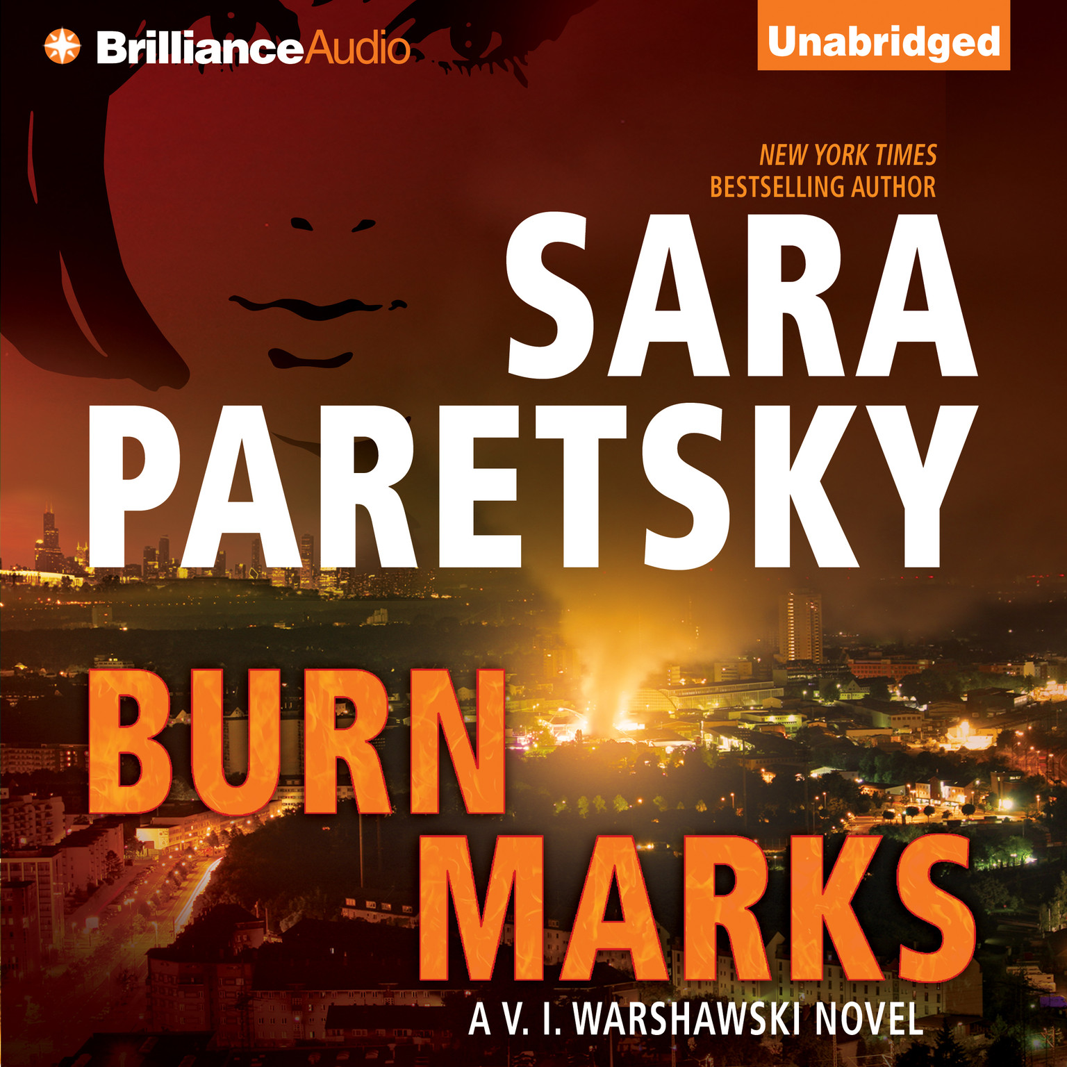 Printable Burn Marks Audiobook Cover Art