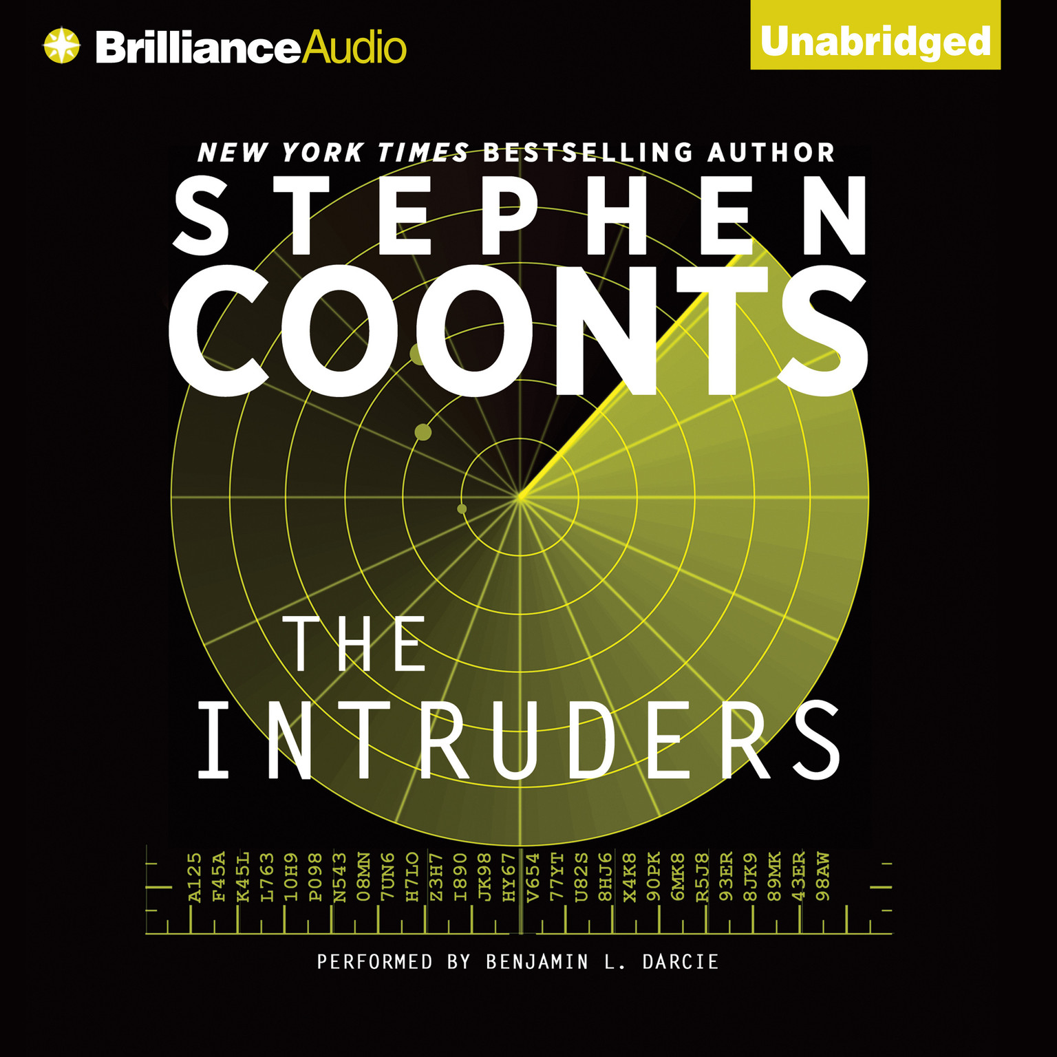 Printable The Intruders Audiobook Cover Art