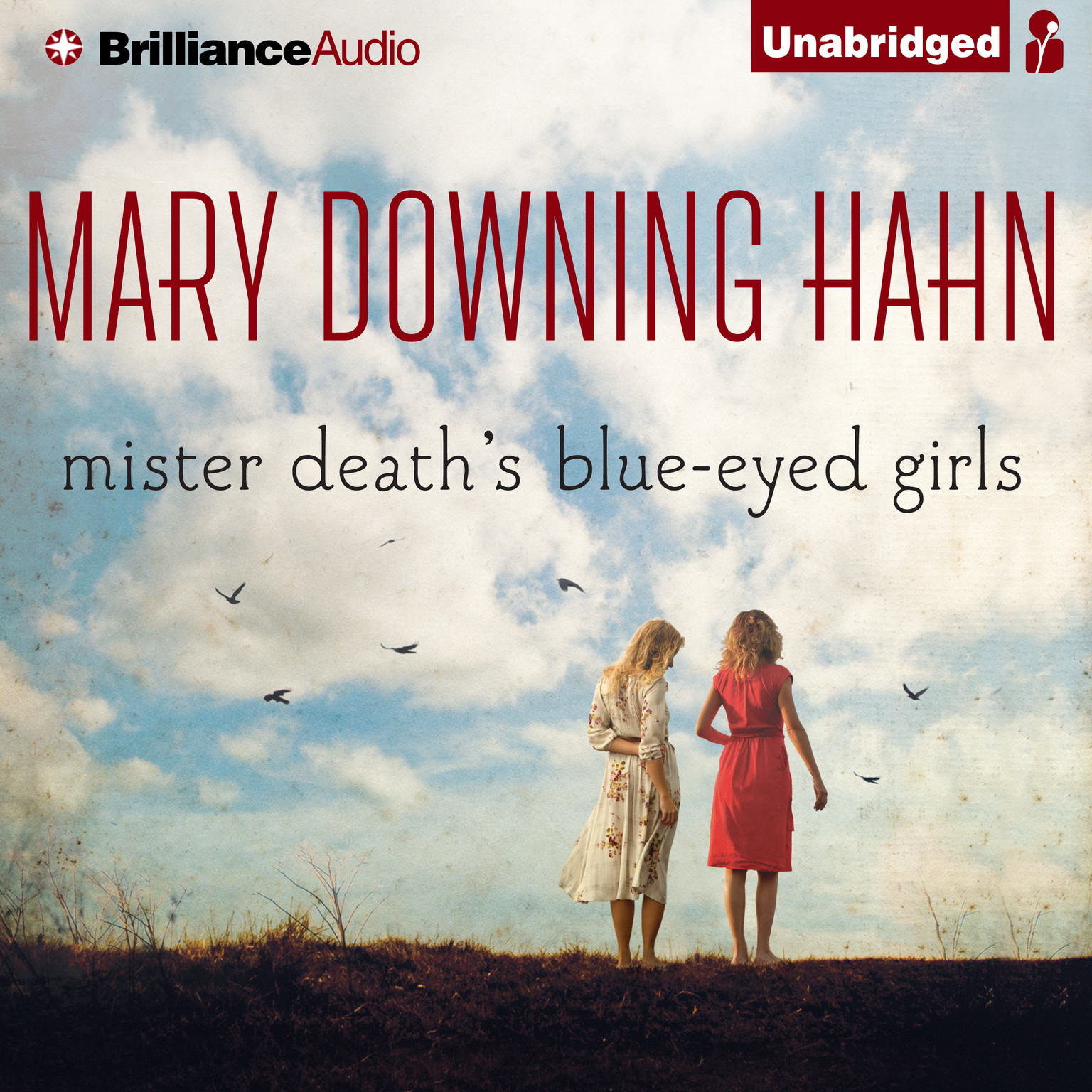 Printable Mister Death's Blue-Eyed Girls Audiobook Cover Art