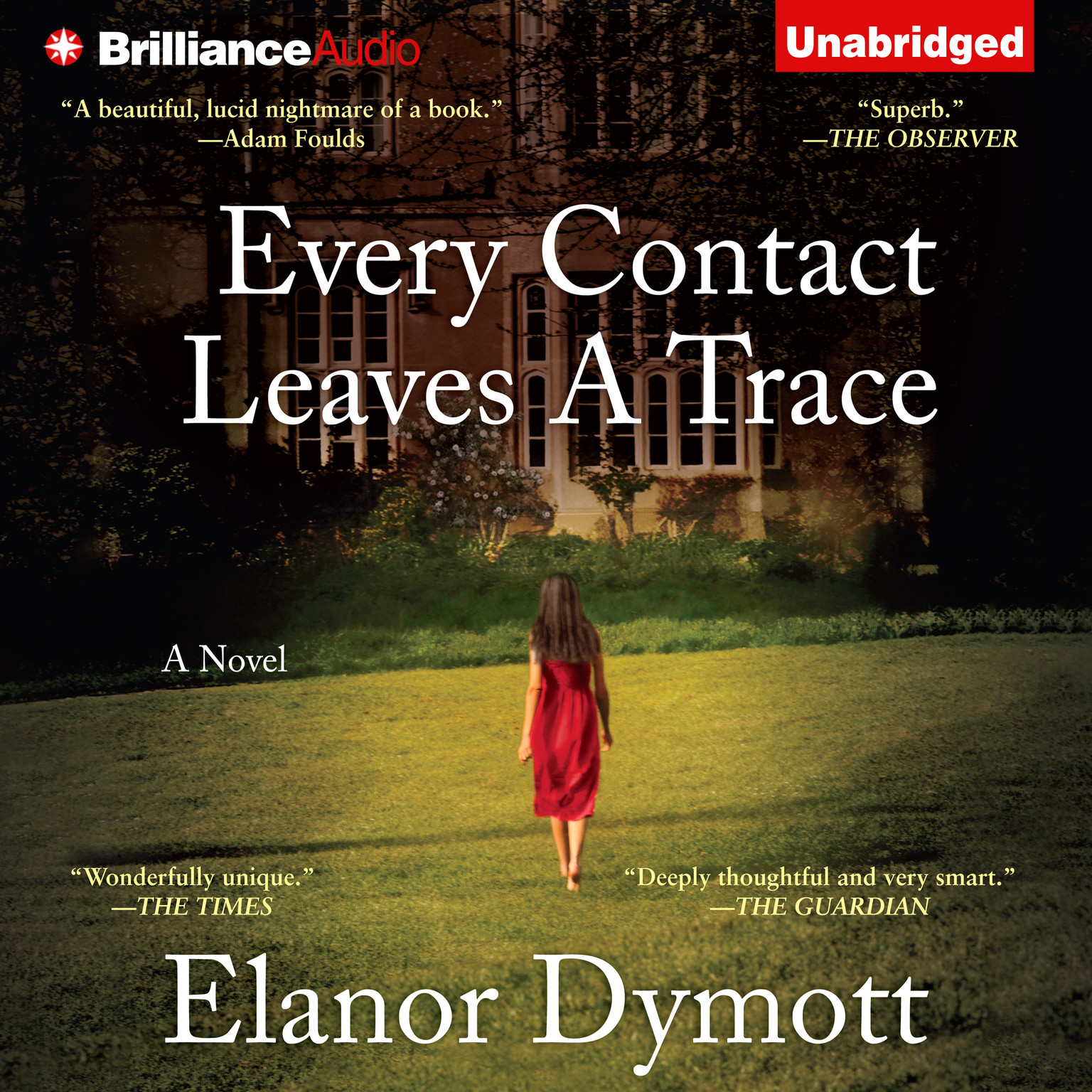 Printable Every Contact Leaves a Trace Audiobook Cover Art