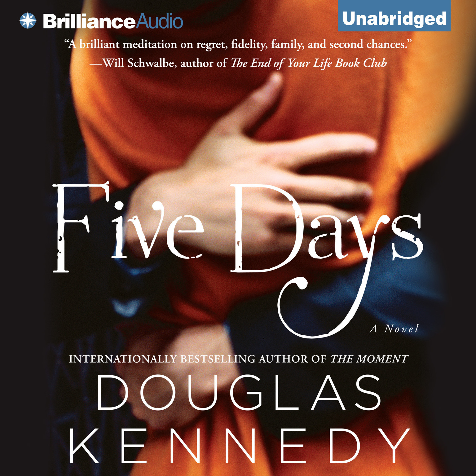Printable Five Days: A Novel Audiobook Cover Art