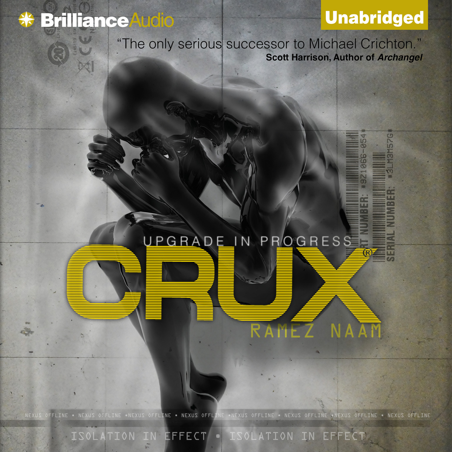 Printable Crux Audiobook Cover Art
