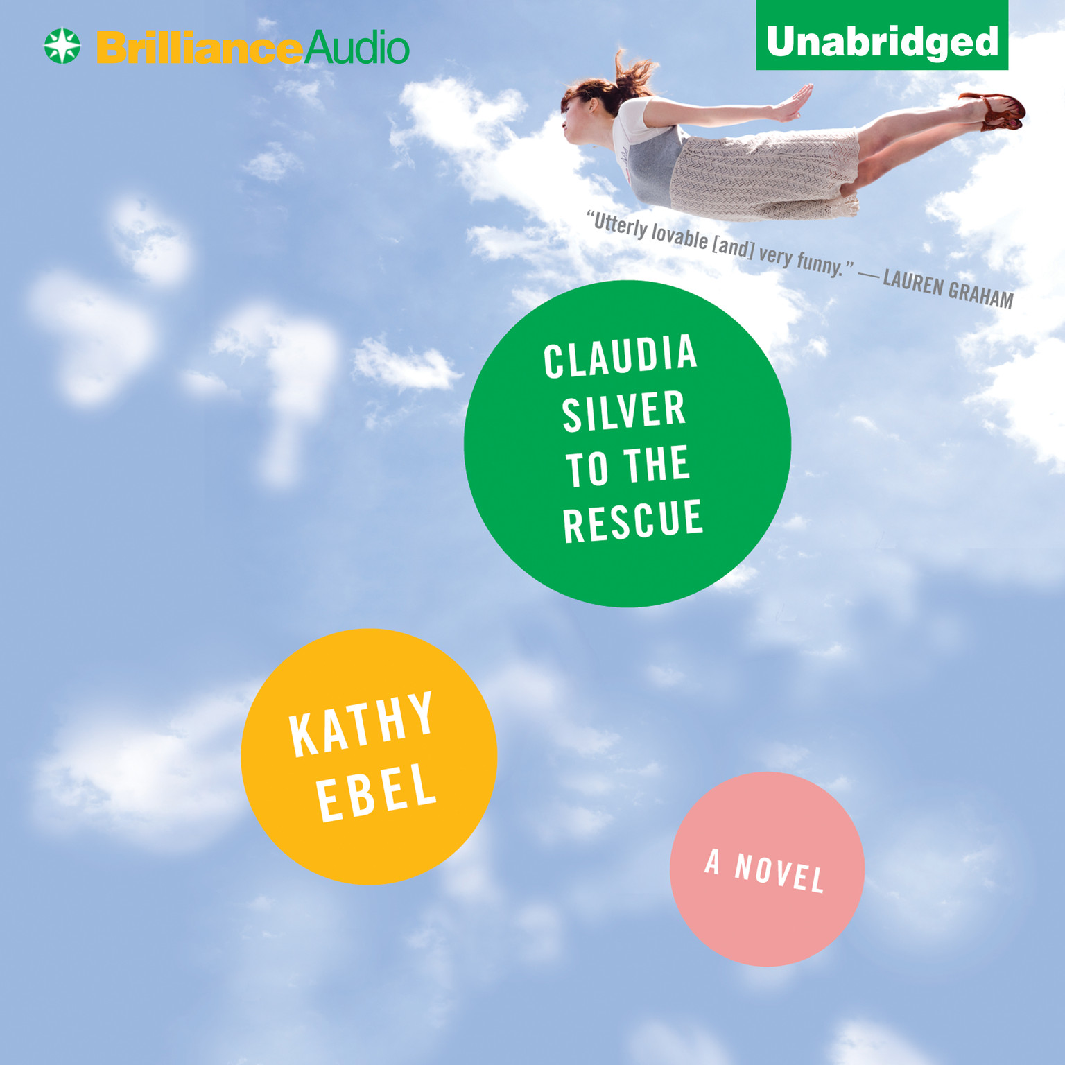 Printable Claudia Silver to the Rescue: A Novel Audiobook Cover Art