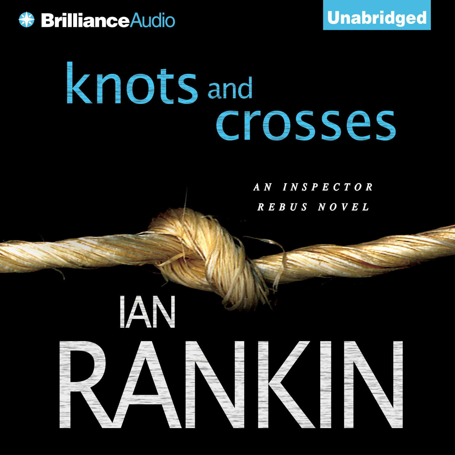 Printable Knots and Crosses Audiobook Cover Art