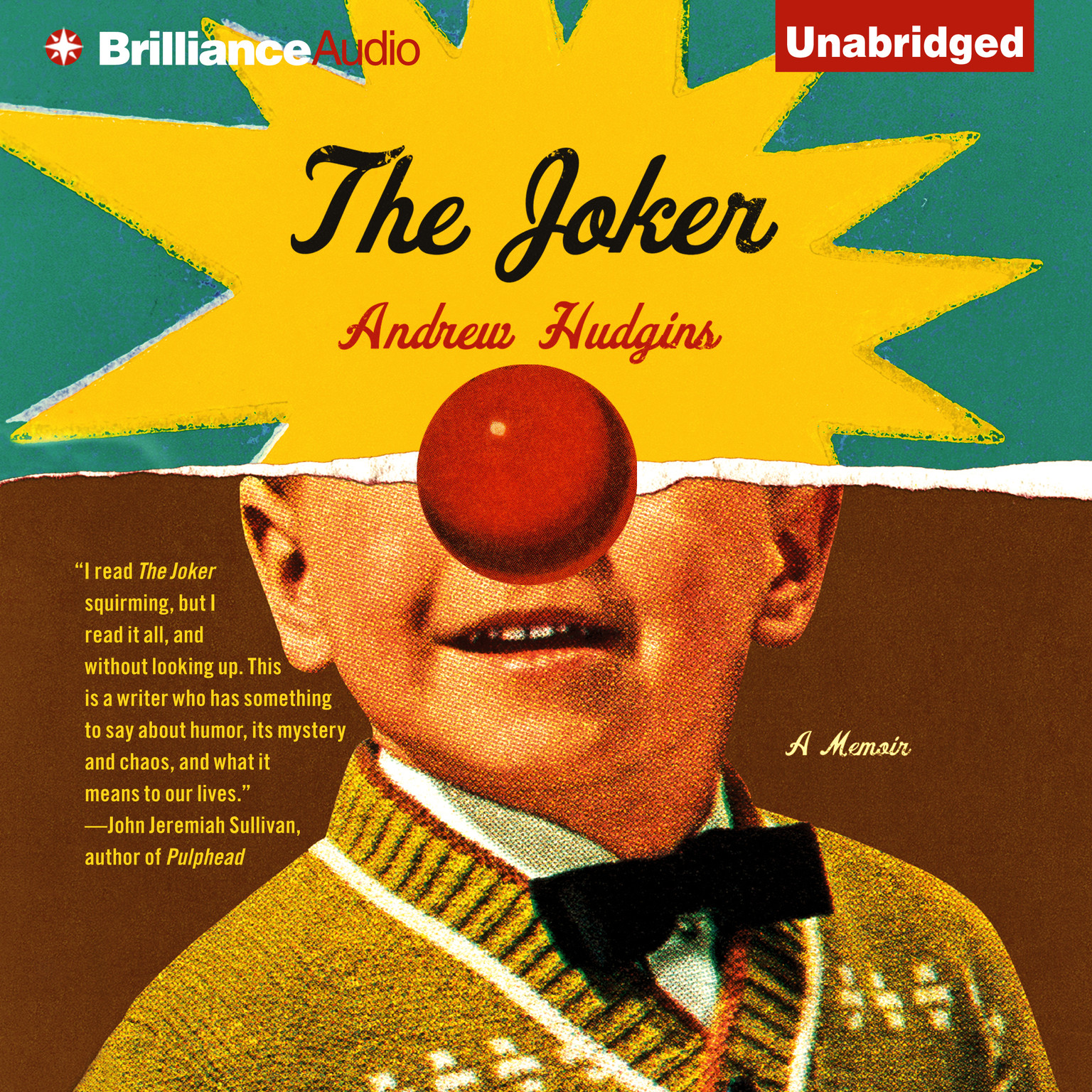 Printable The Joker: A Memoir Audiobook Cover Art