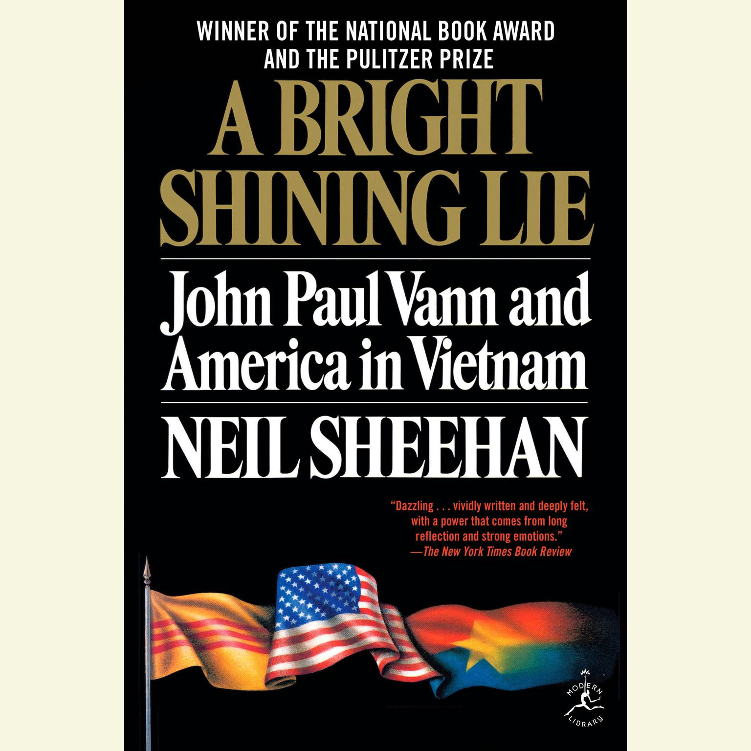 Printable A Bright Shining Lie: John Paul Vann and America in Vietnam Audiobook Cover Art