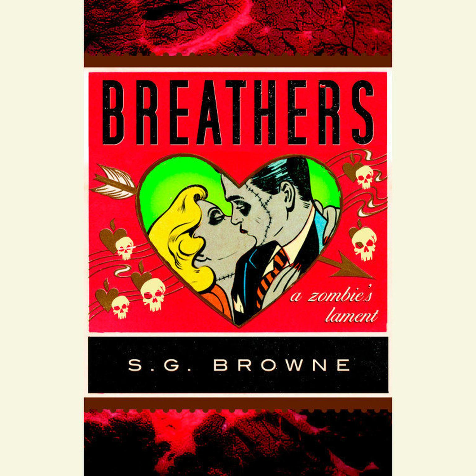 Printable Breathers: A Zombie's Lament Audiobook Cover Art