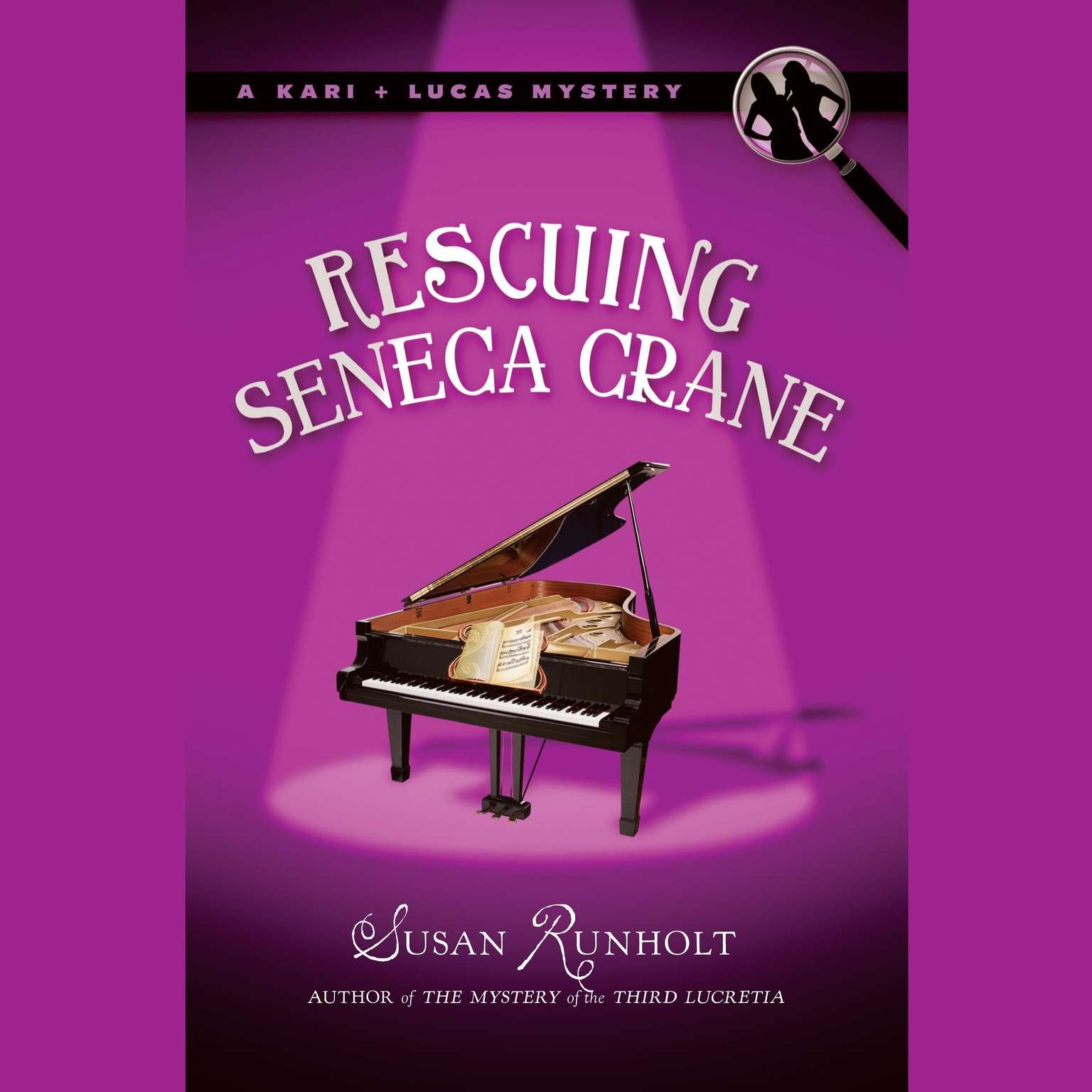 Printable Rescuing Seneca Crane Audiobook Cover Art