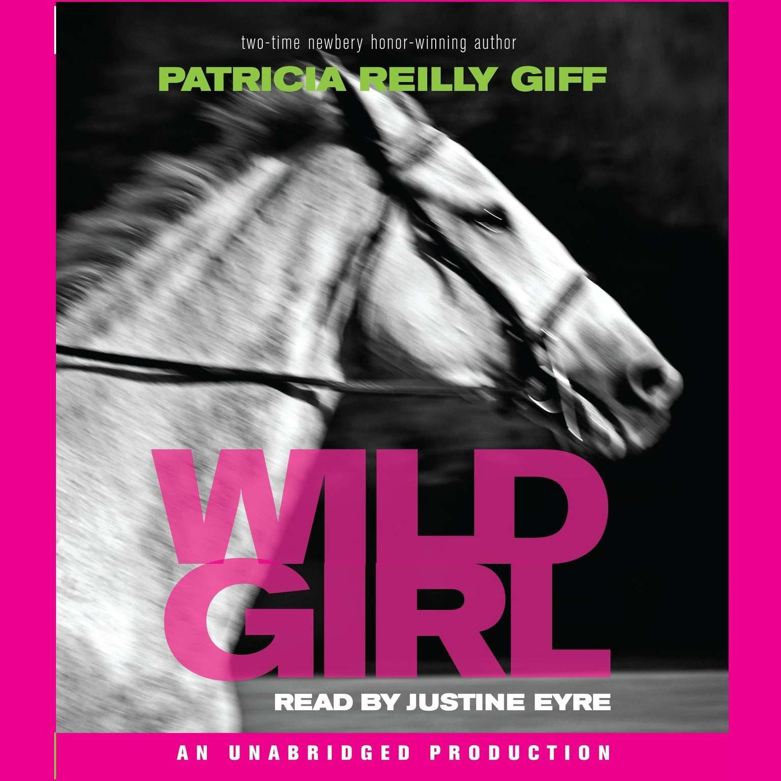 Printable Wild Girl Audiobook Cover Art