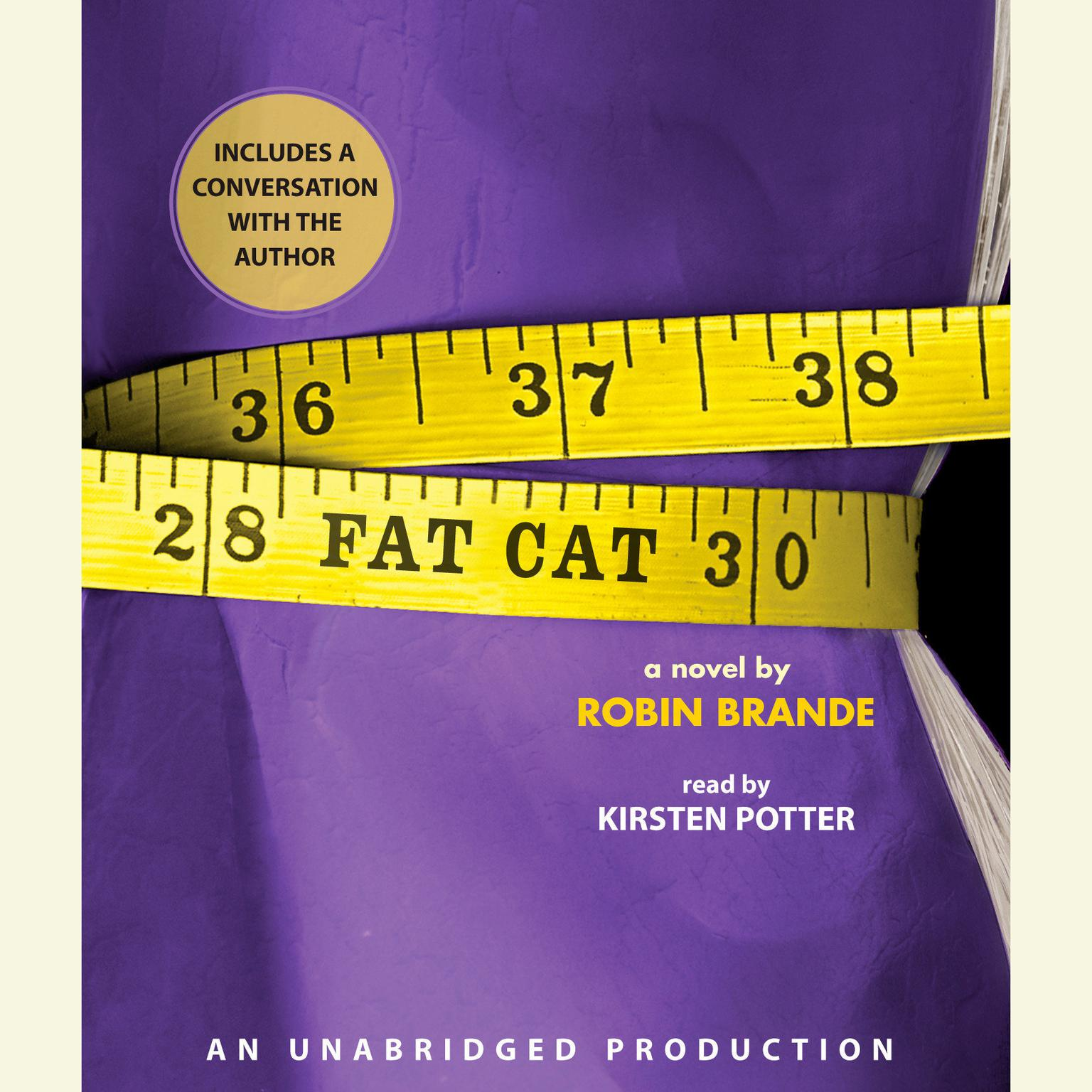 Printable Fat Cat Audiobook Cover Art