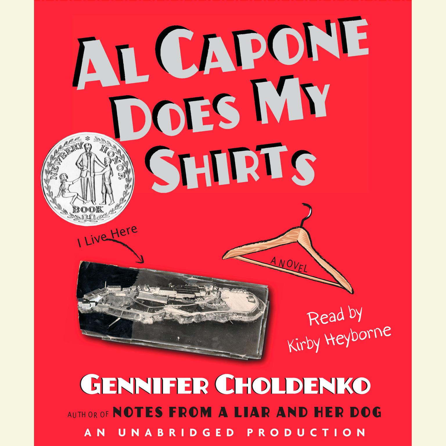 Printable Al Capone Does My Shirts Audiobook Cover Art