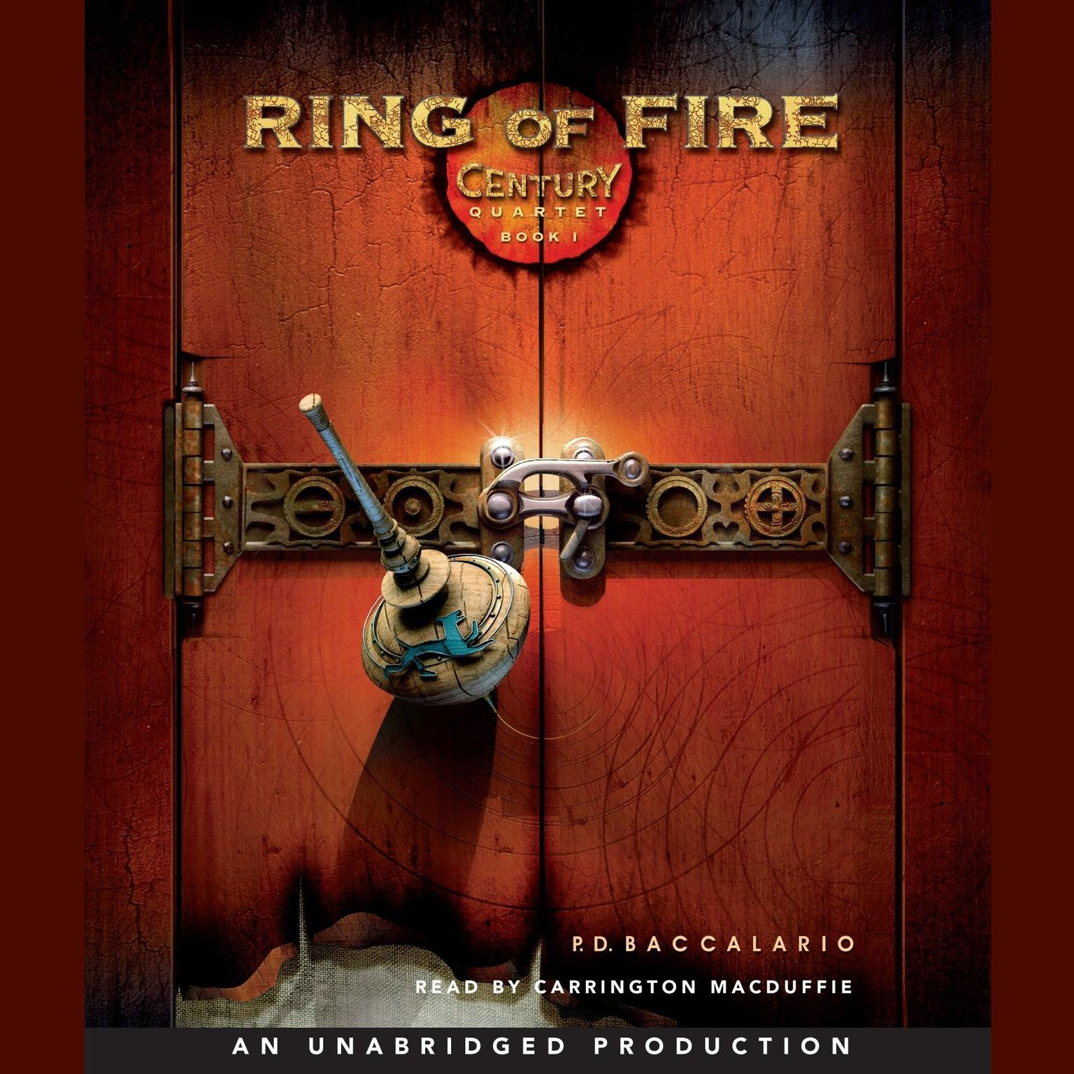 Printable Ring of Fire Audiobook Cover Art